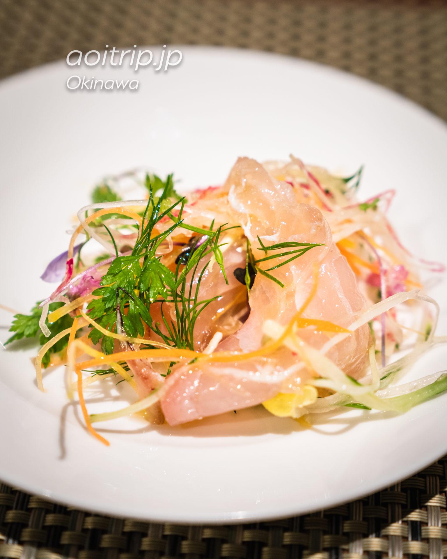シェラトン沖縄サンマリーナリゾート レストランThe Grill 鮮魚のカルパッチョ