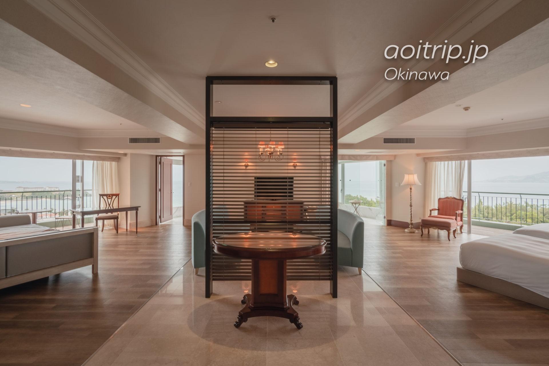 オキナワ マリオット リゾート & スパ パノラマ オーシャンスイート Panorama Ocean Suite