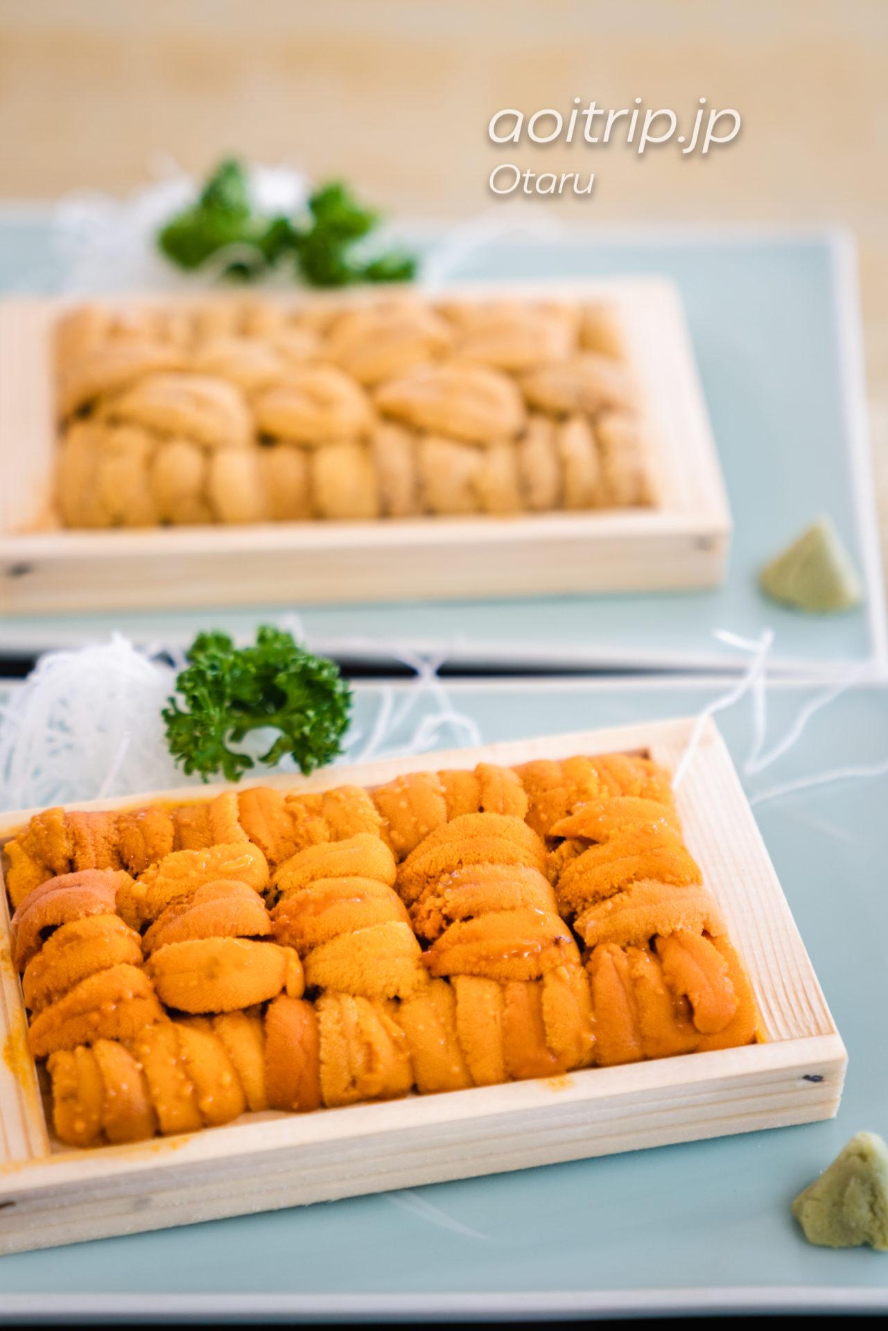 小樽 青塚食堂の雲丹