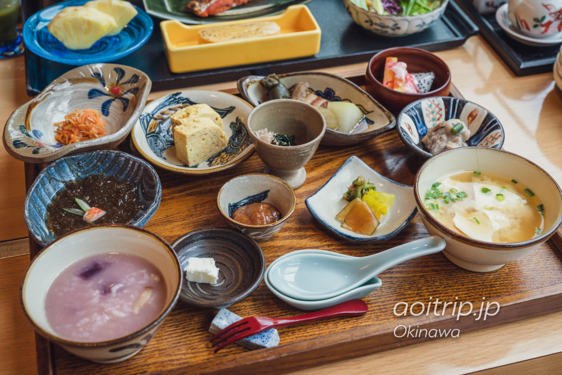 ルネッサンスリゾート オキナワ 彩の朝食 30食限定の琉球朝食