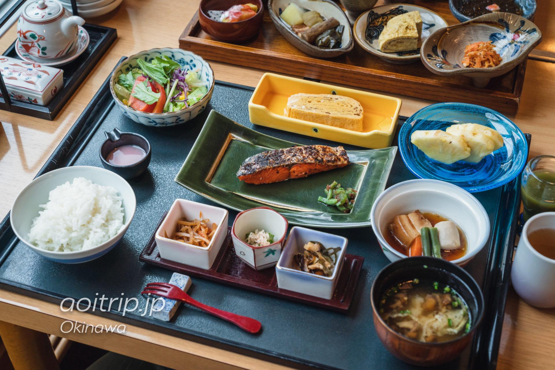 ルネッサンスリゾート オキナワ 彩の朝食 和定食