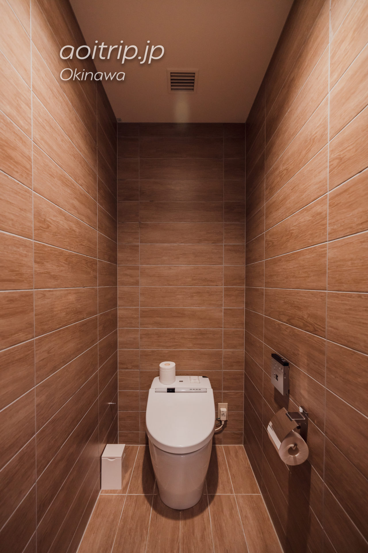 リーガロイヤルグラン沖縄のトイレ