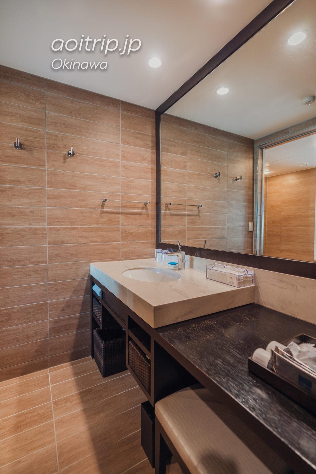 リーガロイヤルグラン沖縄の洗面所