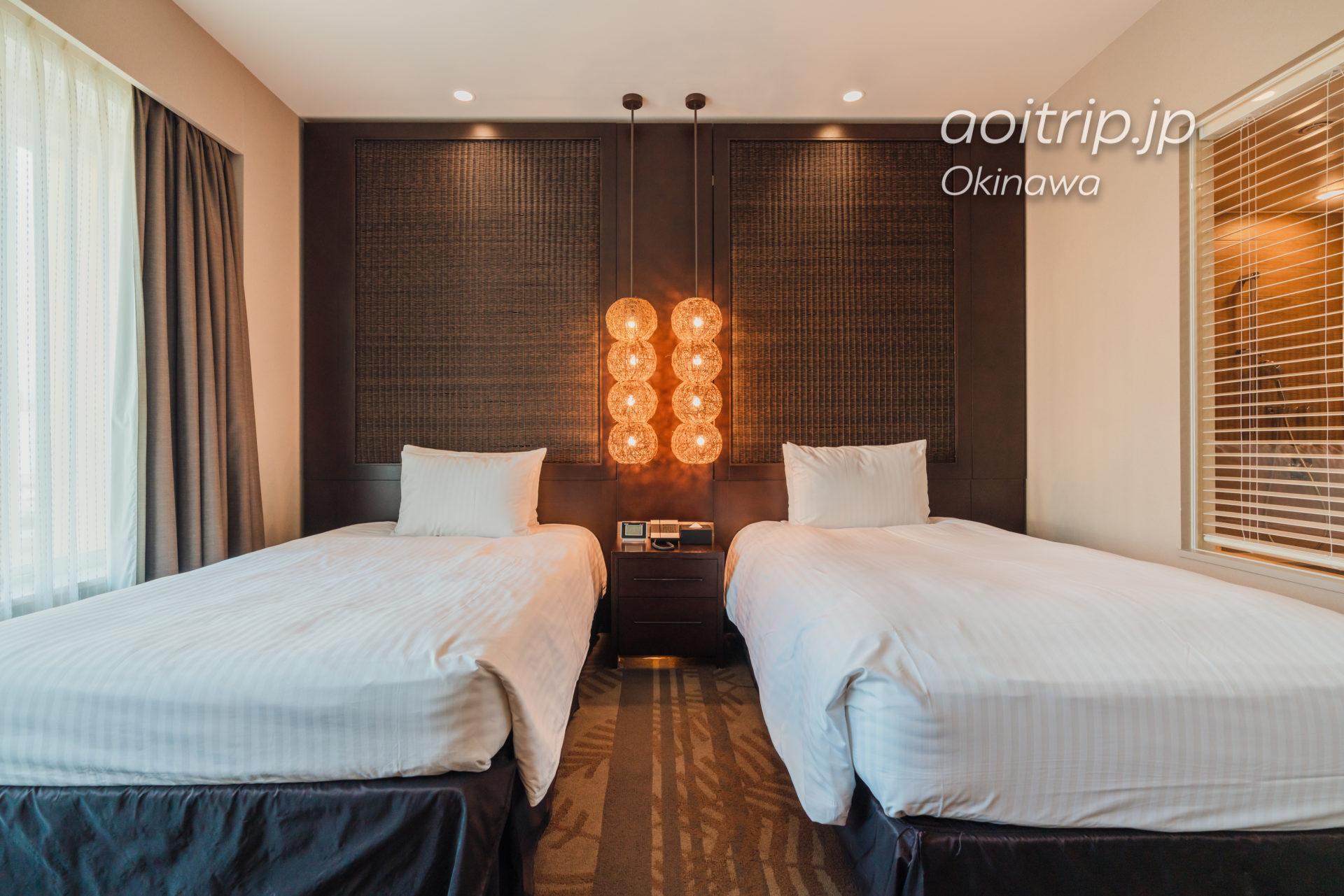 リーガロイヤルグラン沖縄 シティービューツインルームの客室