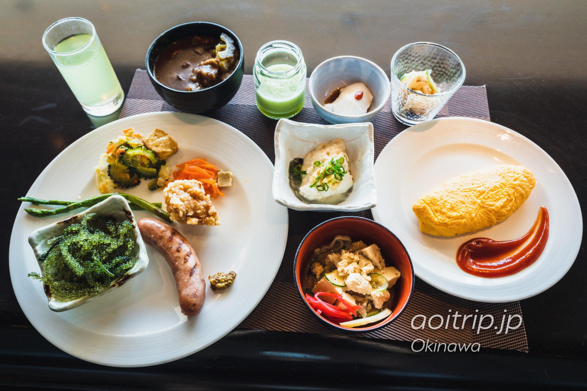 リーガロイヤルグラン沖縄の朝食ビュッフェ