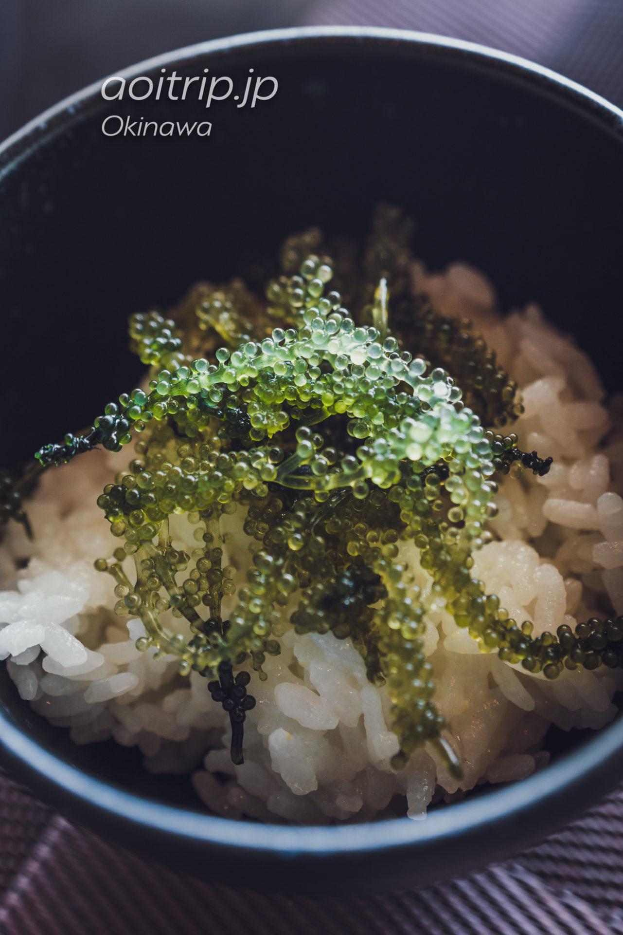リーガロイヤルグラン沖縄の朝食 海ぶどう