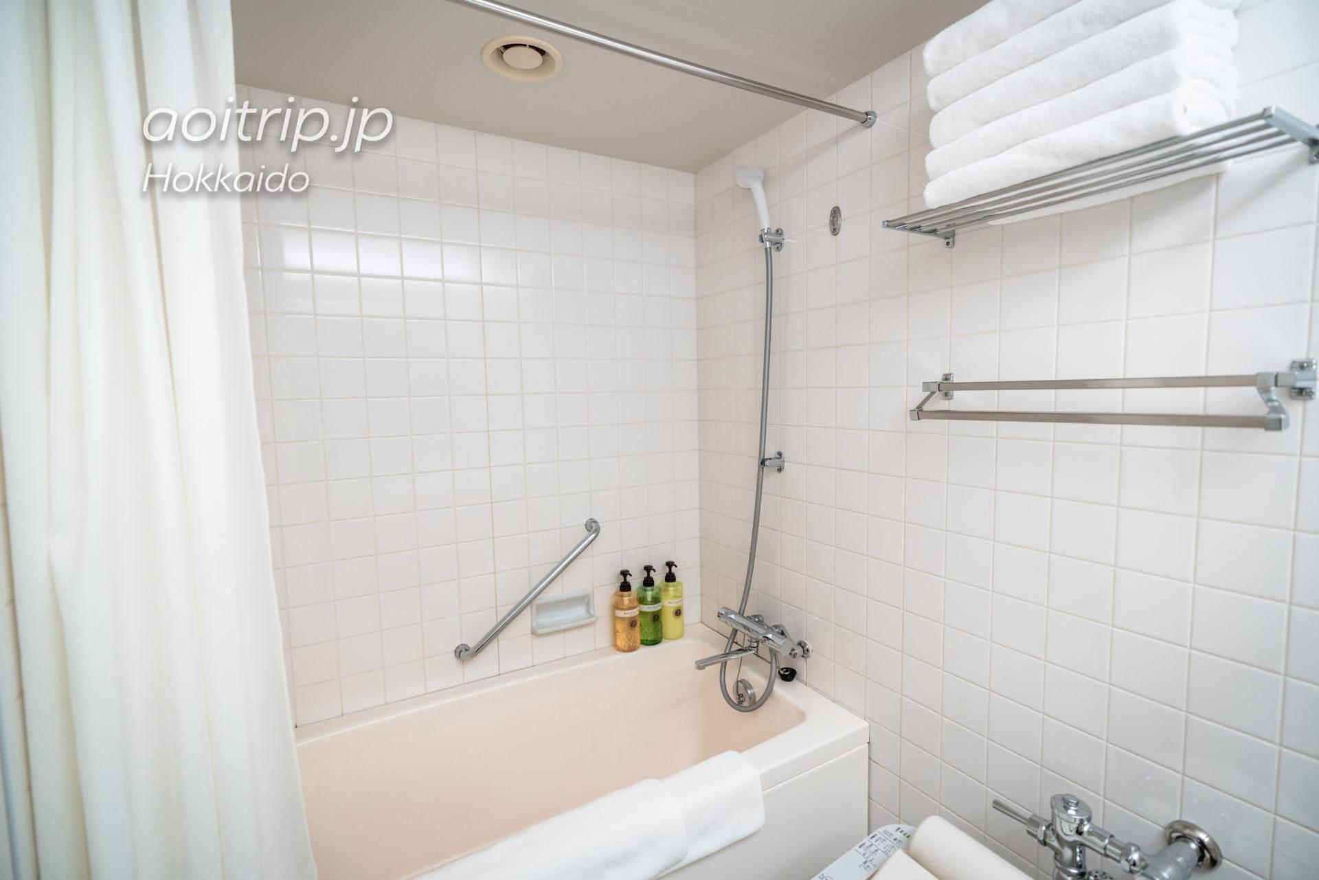 星野リゾートトマムザタワーのバスルーム・トイレ