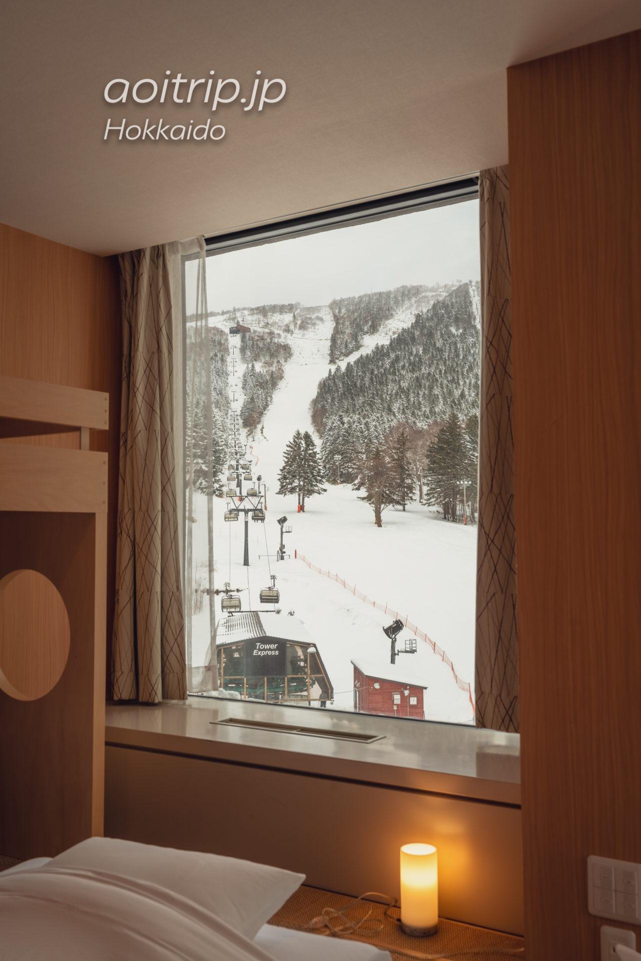 星野リゾート・トマム・ザ・タワー ファミリーファイブルーム(ロフトベッド有) The Tower2 Family Quintuple Room(bunk bed)