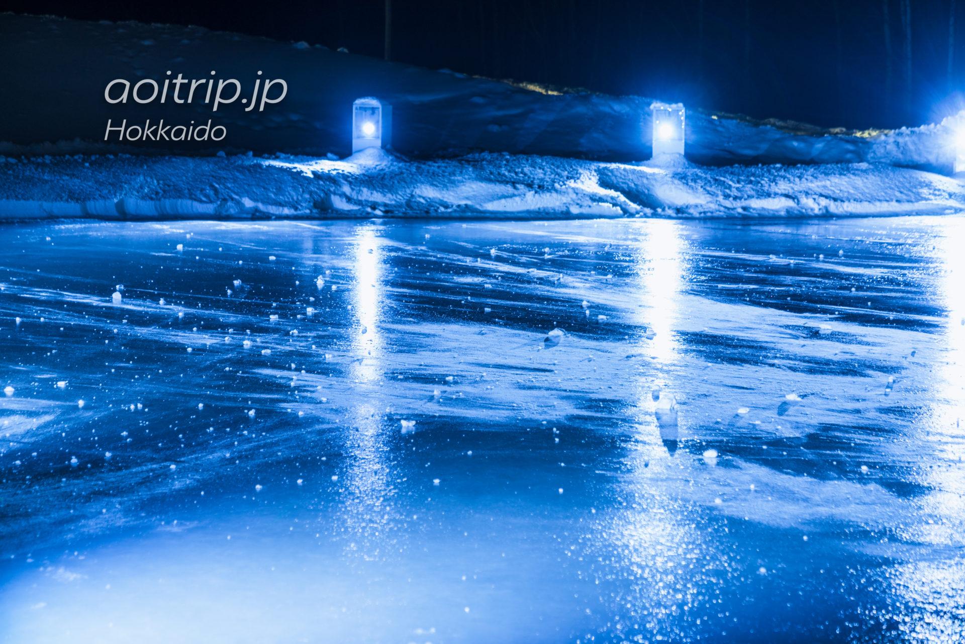 アイスヴィレッジの氷のアイスリンク