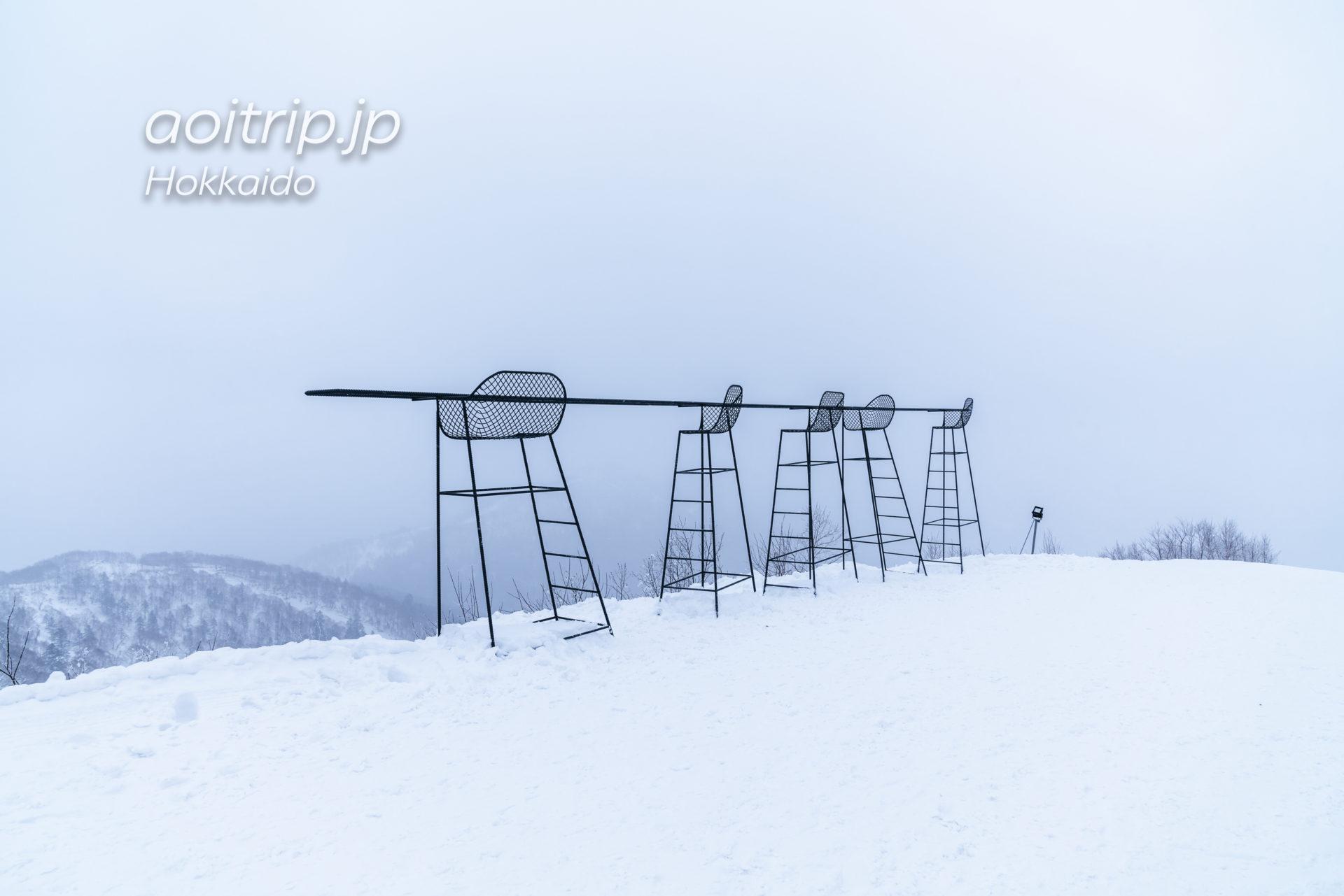 霧氷テラスのクラウドバー