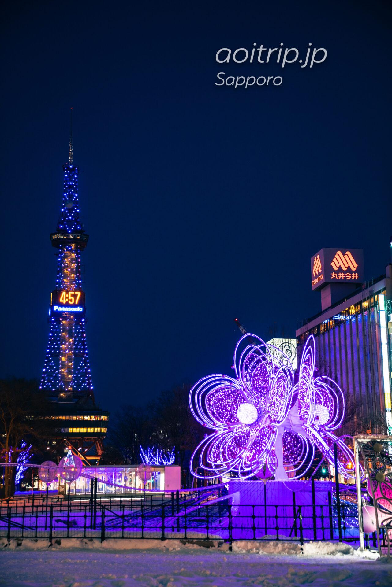 さっぽろホワイトイルミネーション Sapporo White Illumination