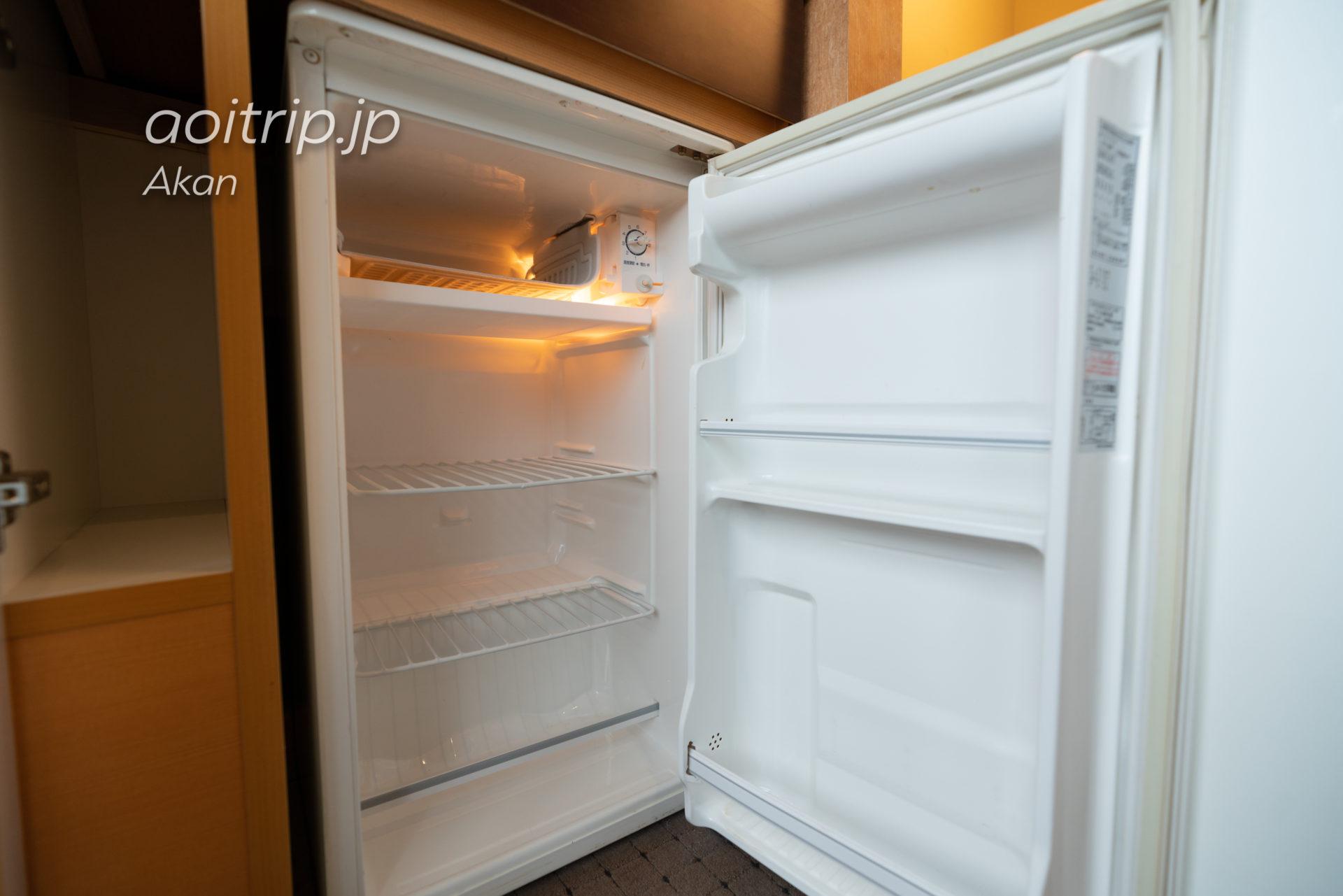 あかん湖 鶴雅ウイングスの客室 【湖側】和室ツイン(バス付) 冷蔵庫
