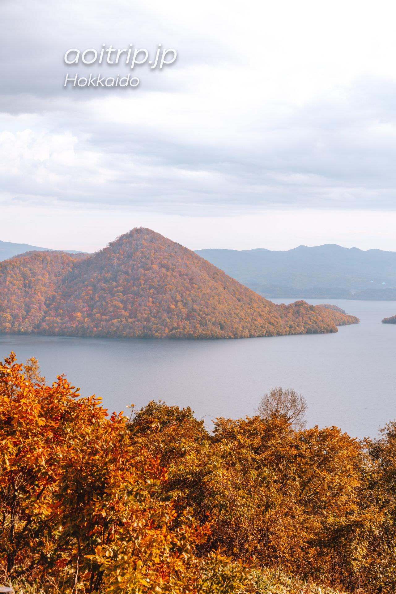 北海道 洞爺湖のサイロ展望台(Silo Observatory)