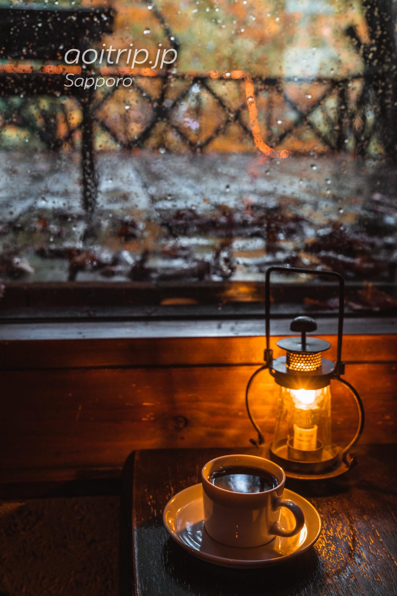 花論珈琲茶房(Karon Coffee Sabo)藻岩本店のブレンド珈琲(フレンチ)