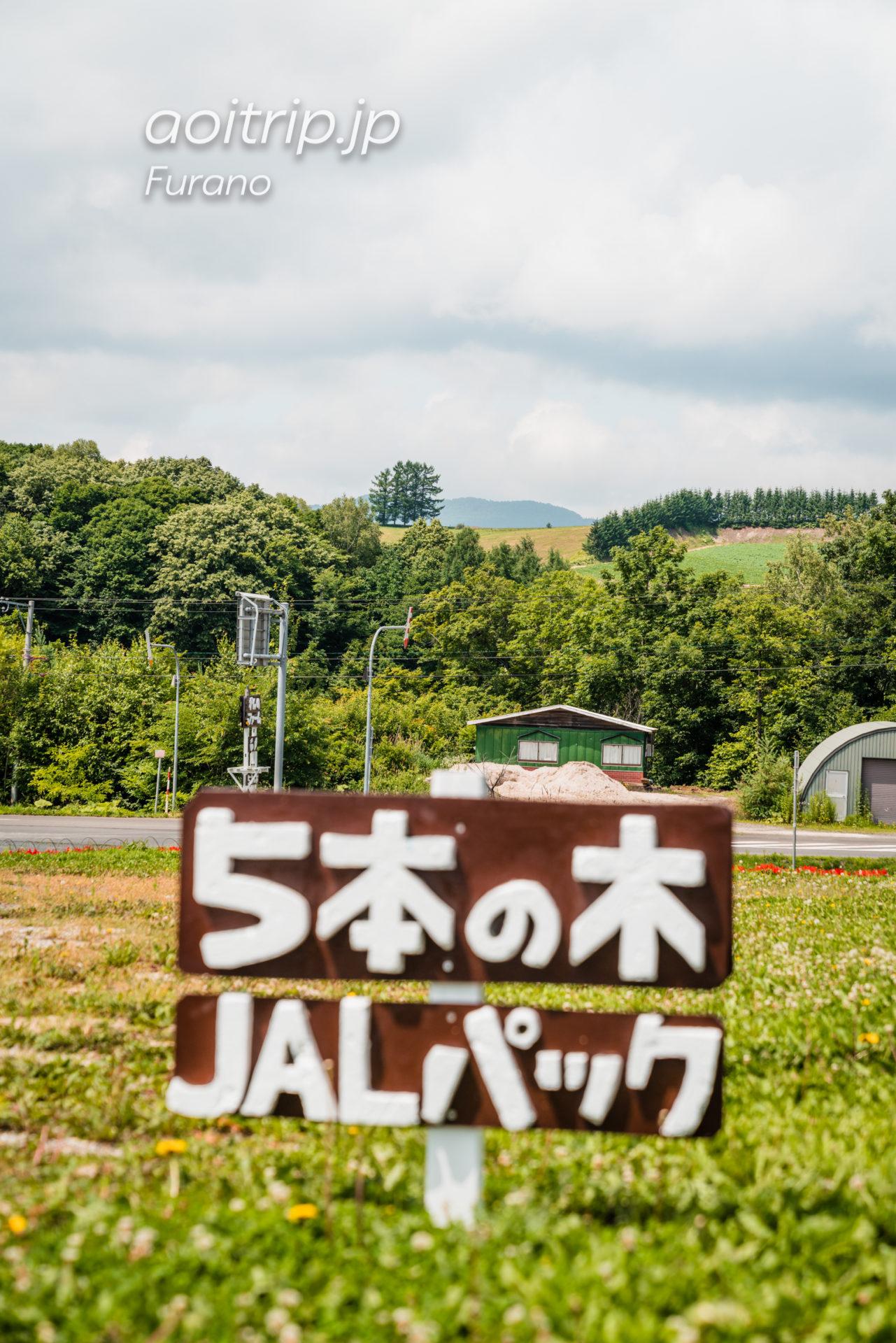 かんのファーム JALパック嵐のCM 5本の木