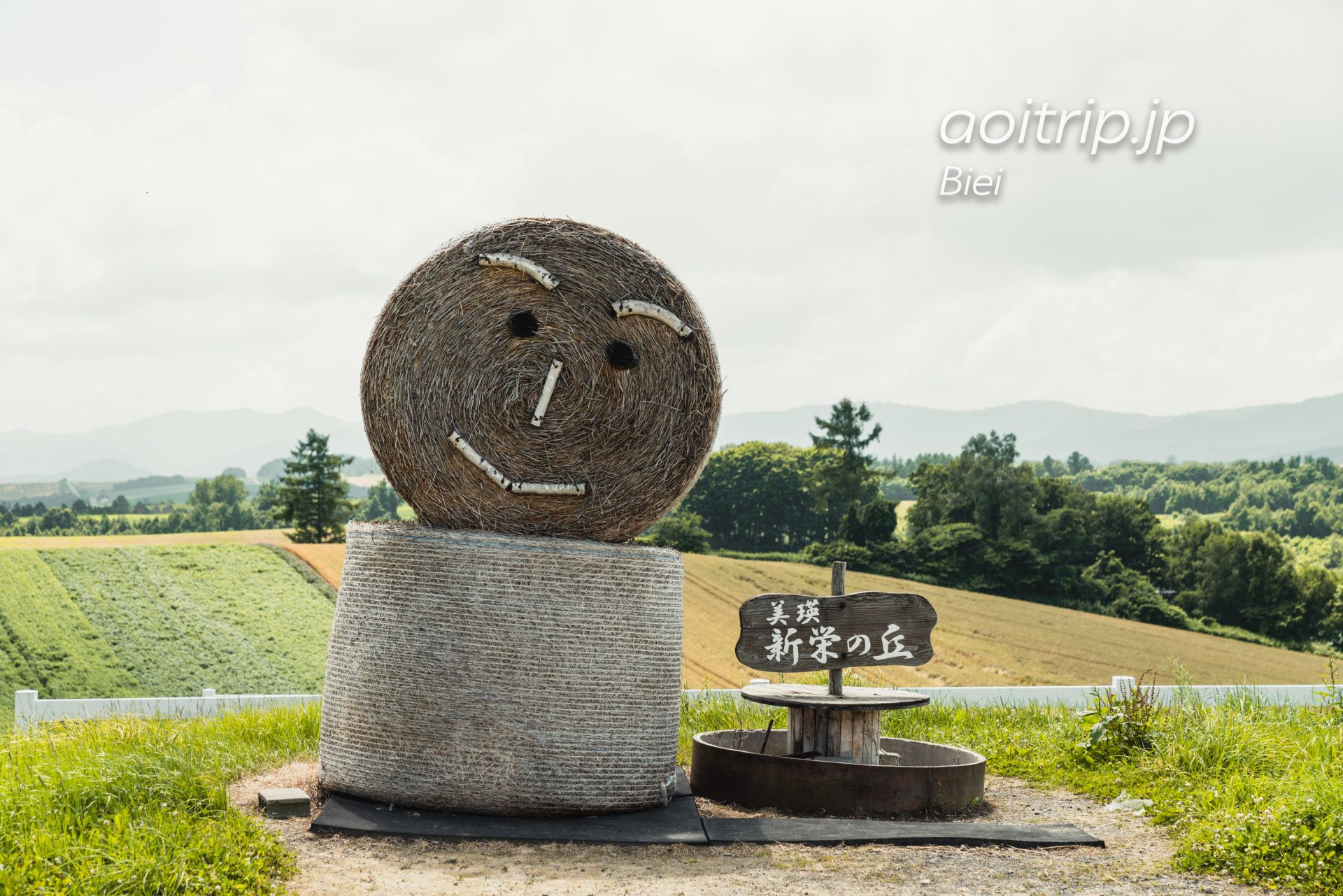 美瑛 新栄の丘展望公園|Shinei no Oka, Biei