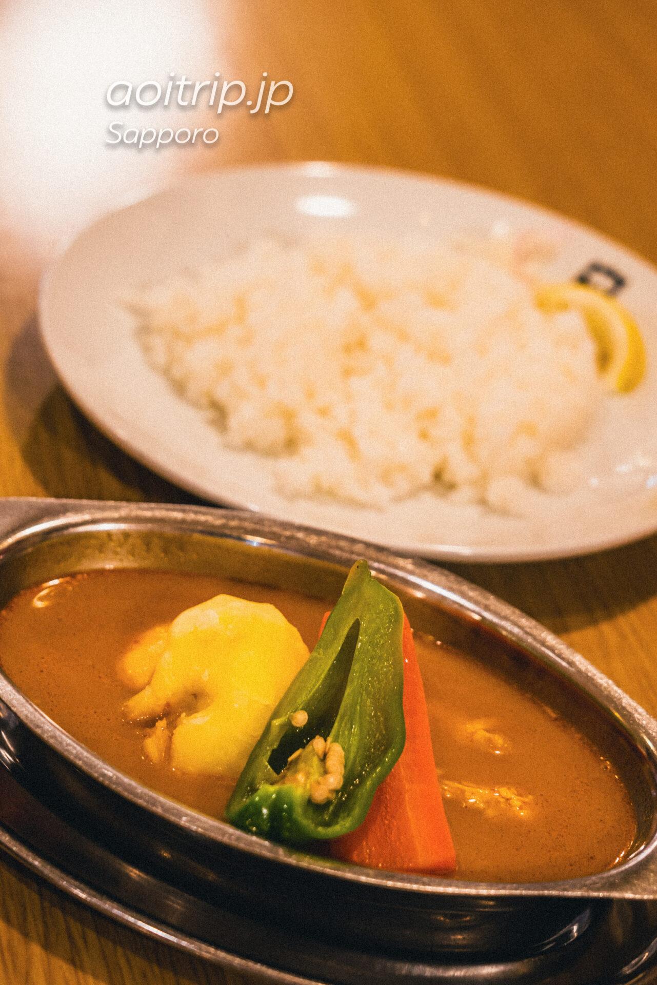 札幌のカレー店 デリーのチキンスープカレー