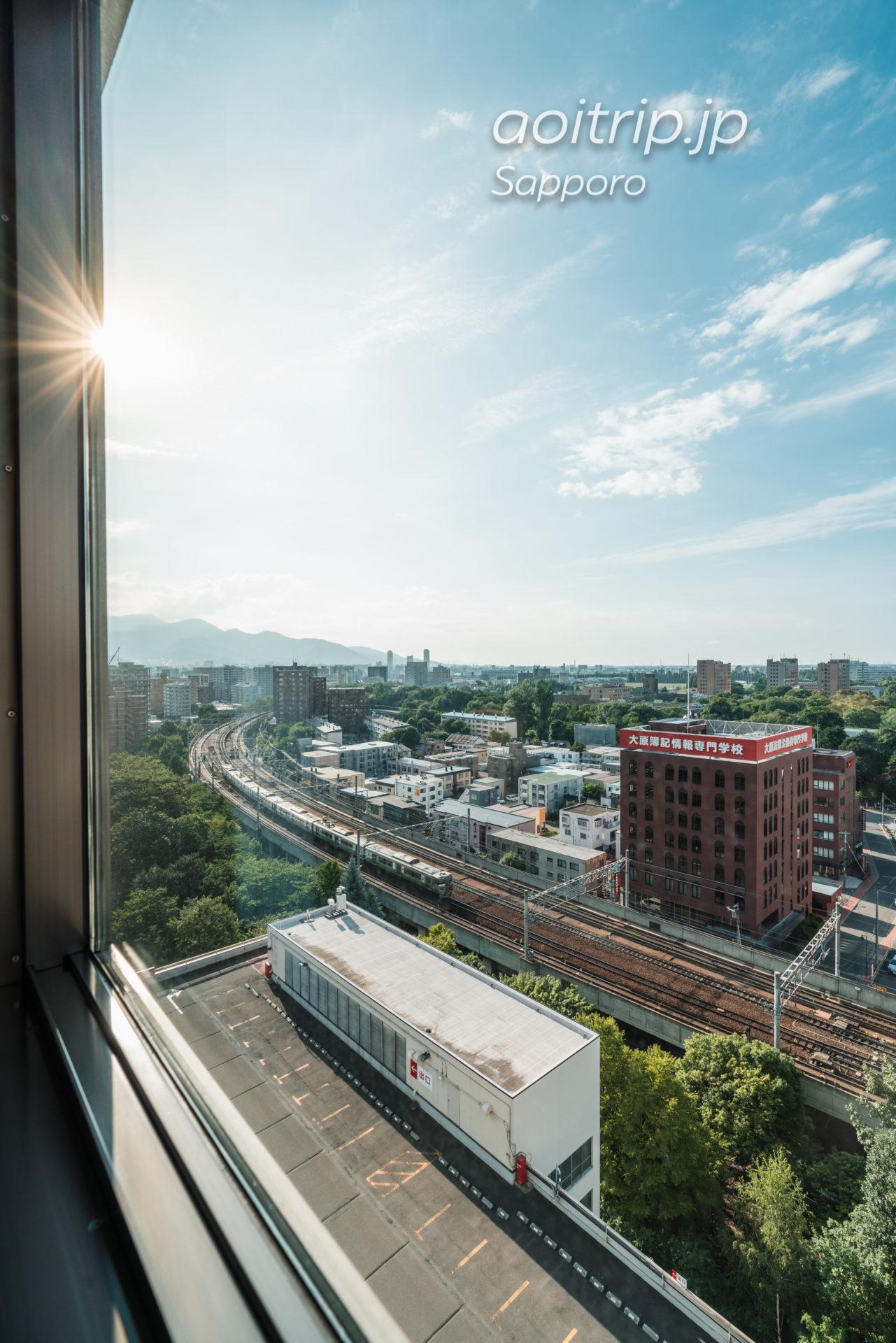 京王プラザホテル札幌 スーペリアダブルルーム Superior Double Roomの眺望