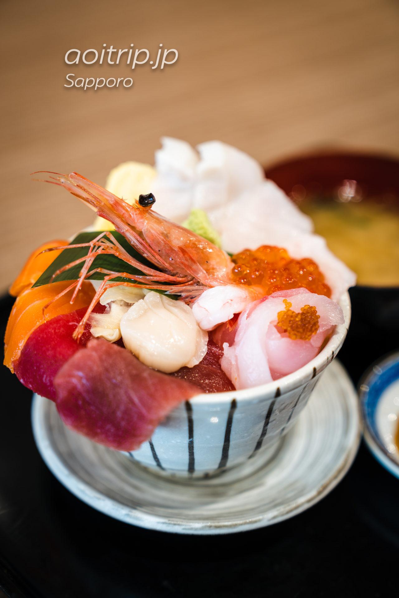 札幌 二条市場 大磯の海鮮丼 大磯丼