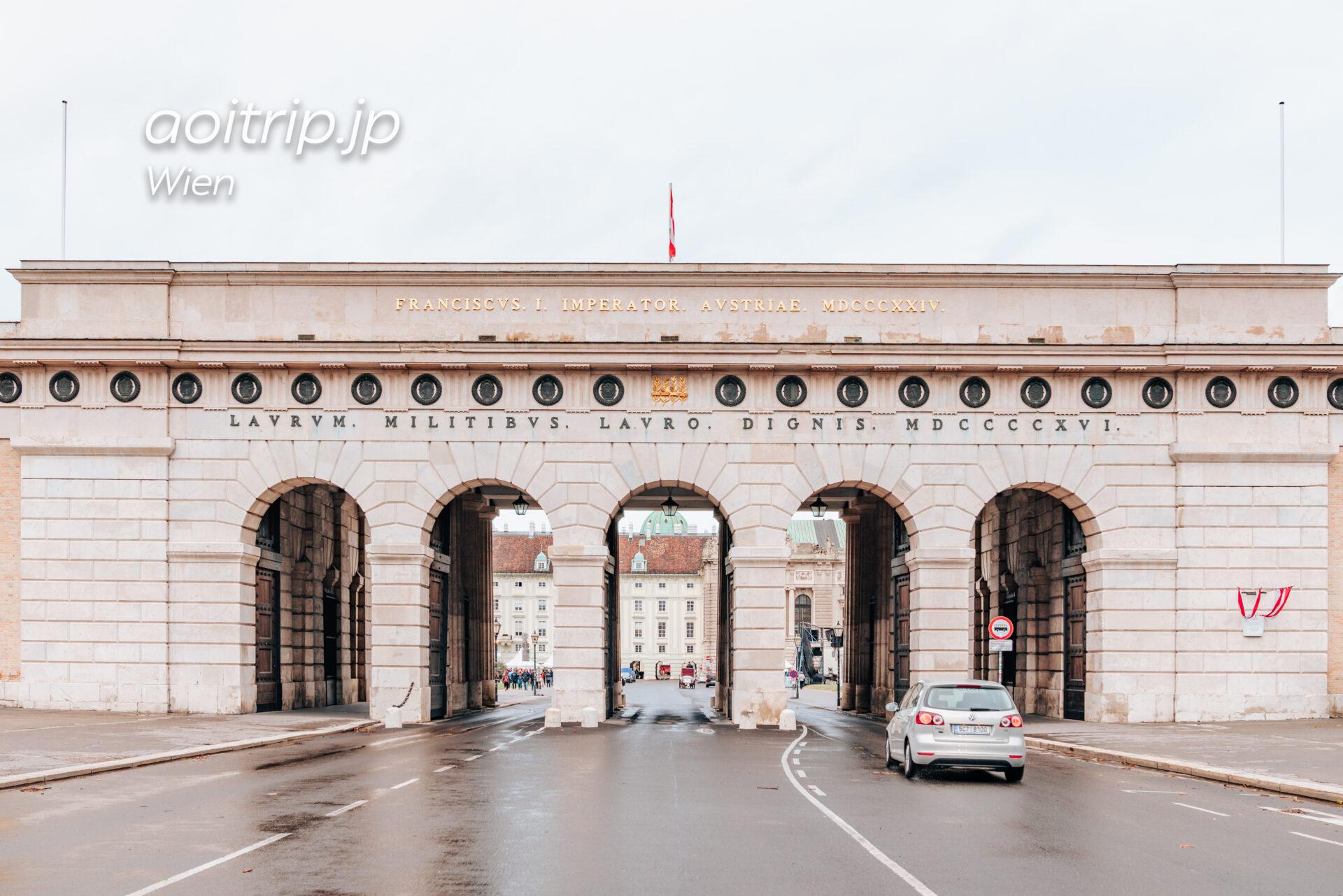 ウィーン ブルク門