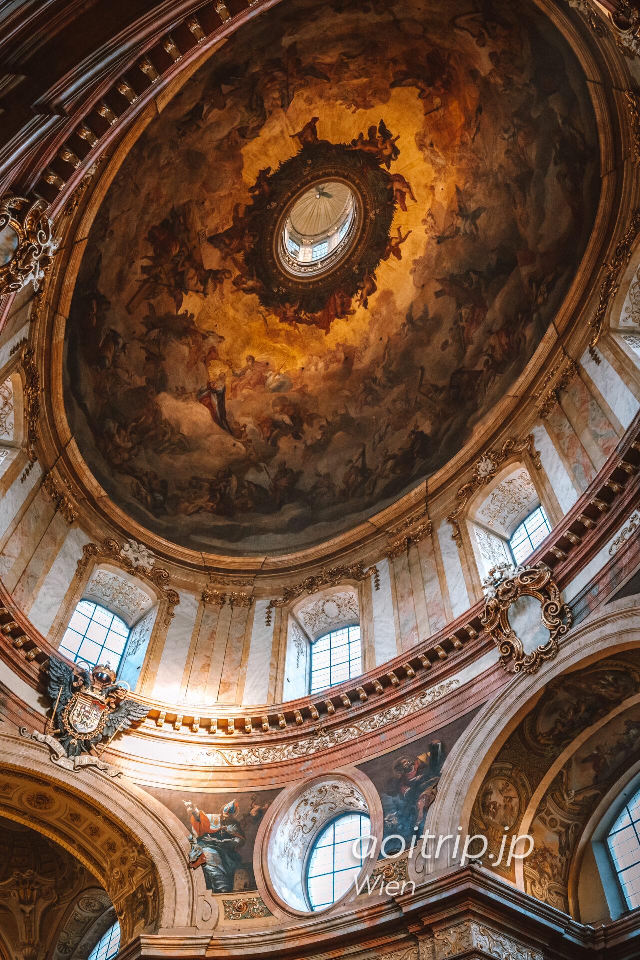 ウィーン 聖ペーター教会のフレスコ画