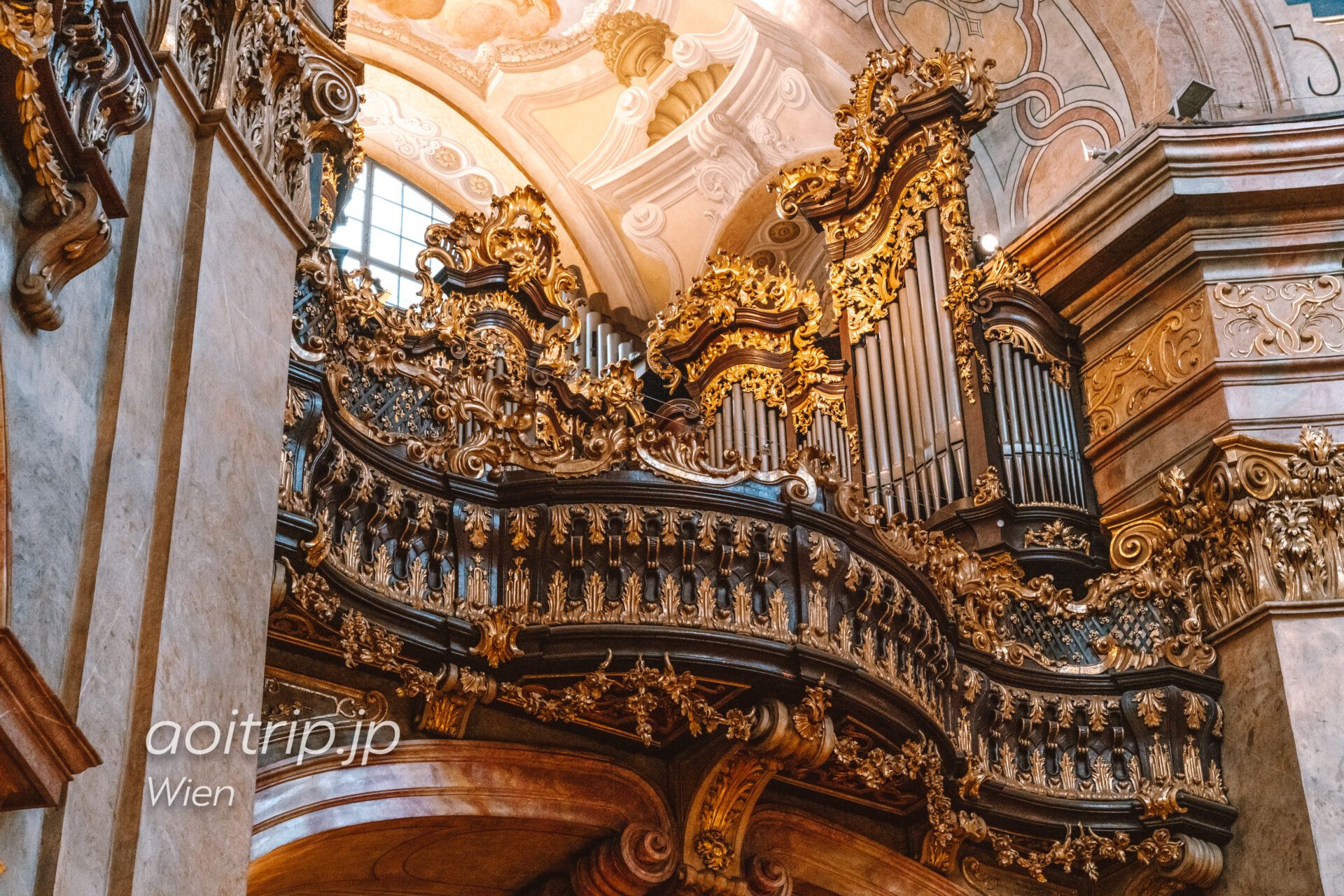 ウィーン 聖ペーター教会のパイプオルガン