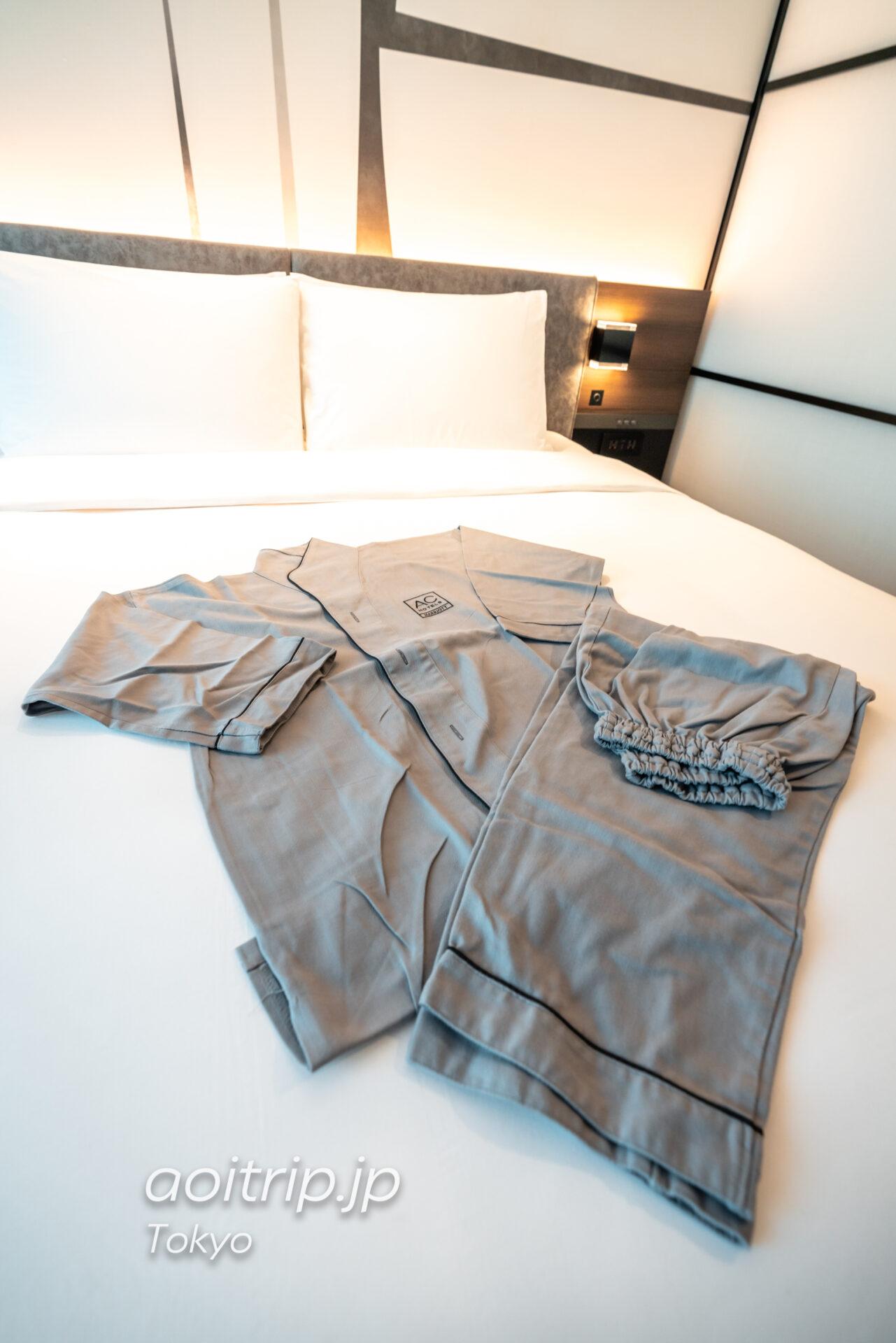 ACホテル東京銀座の部屋着