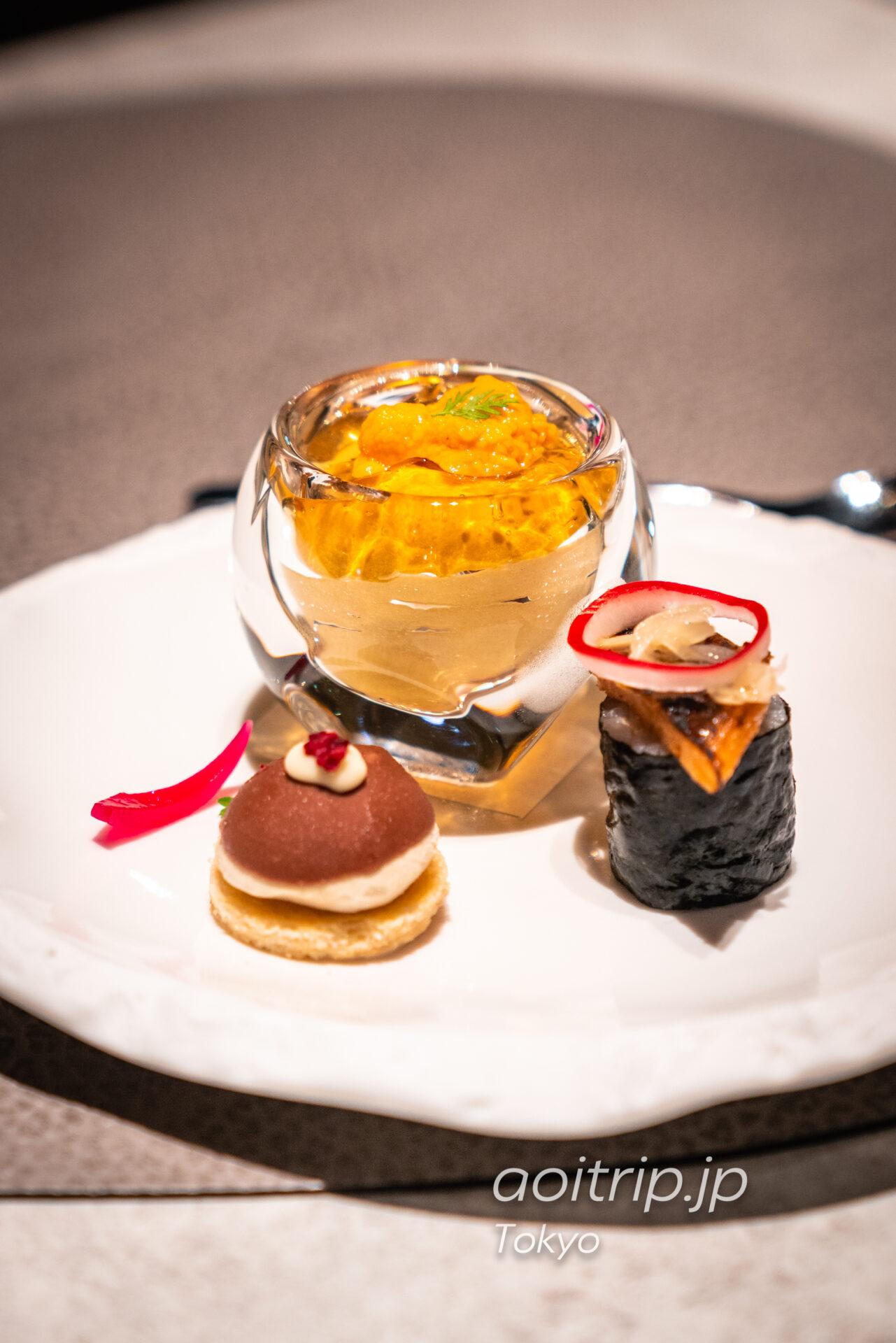レストラン AC Kitchen 季節の彩りピンチョス盛り合わせ