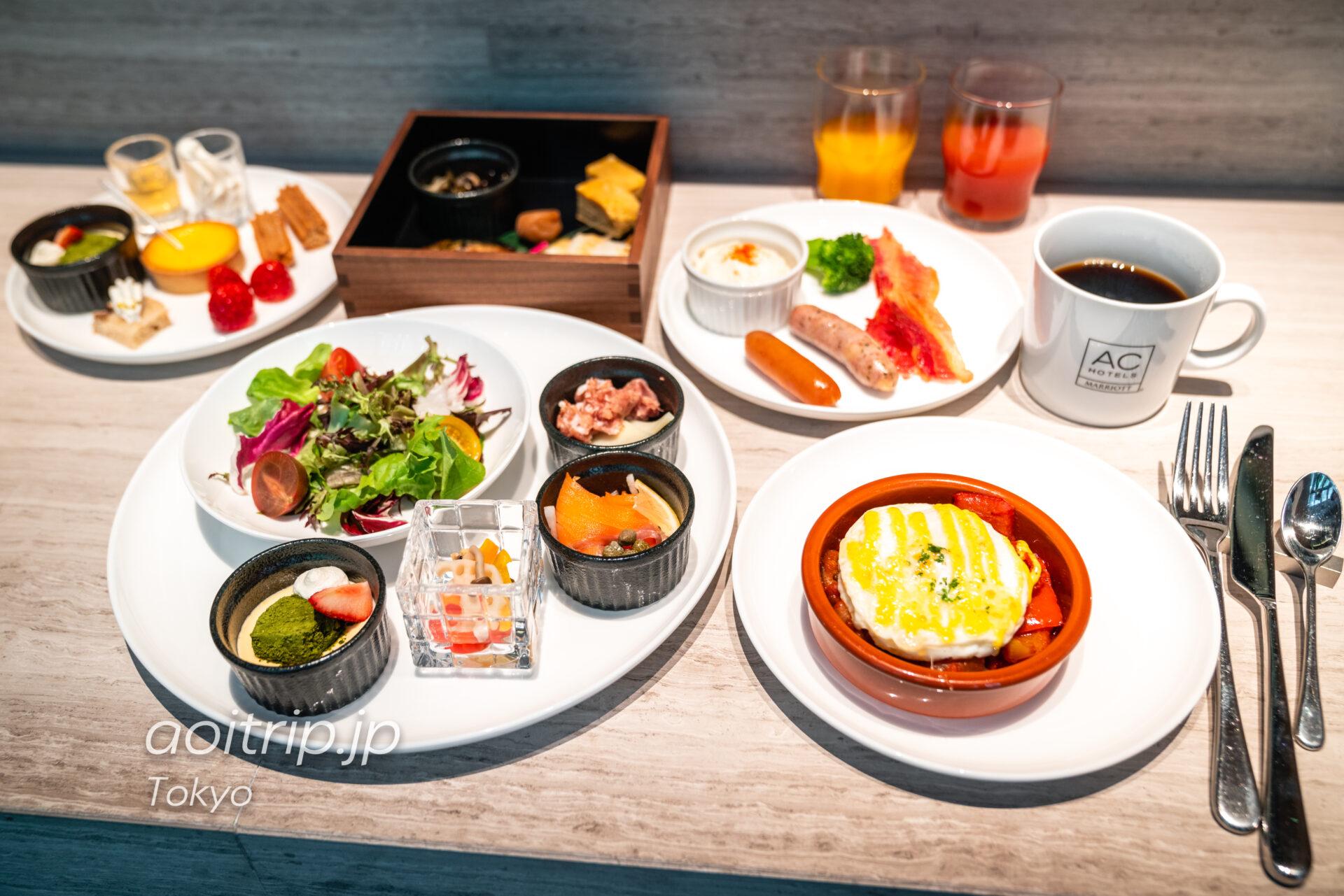 ACホテル東京銀座 AC Hotel Tokyo Ginza 朝食