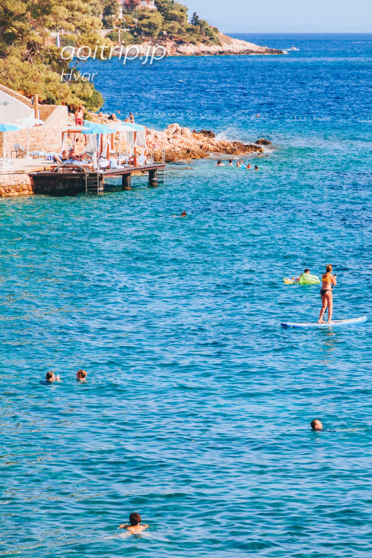 フヴァル島 Bonj Beach