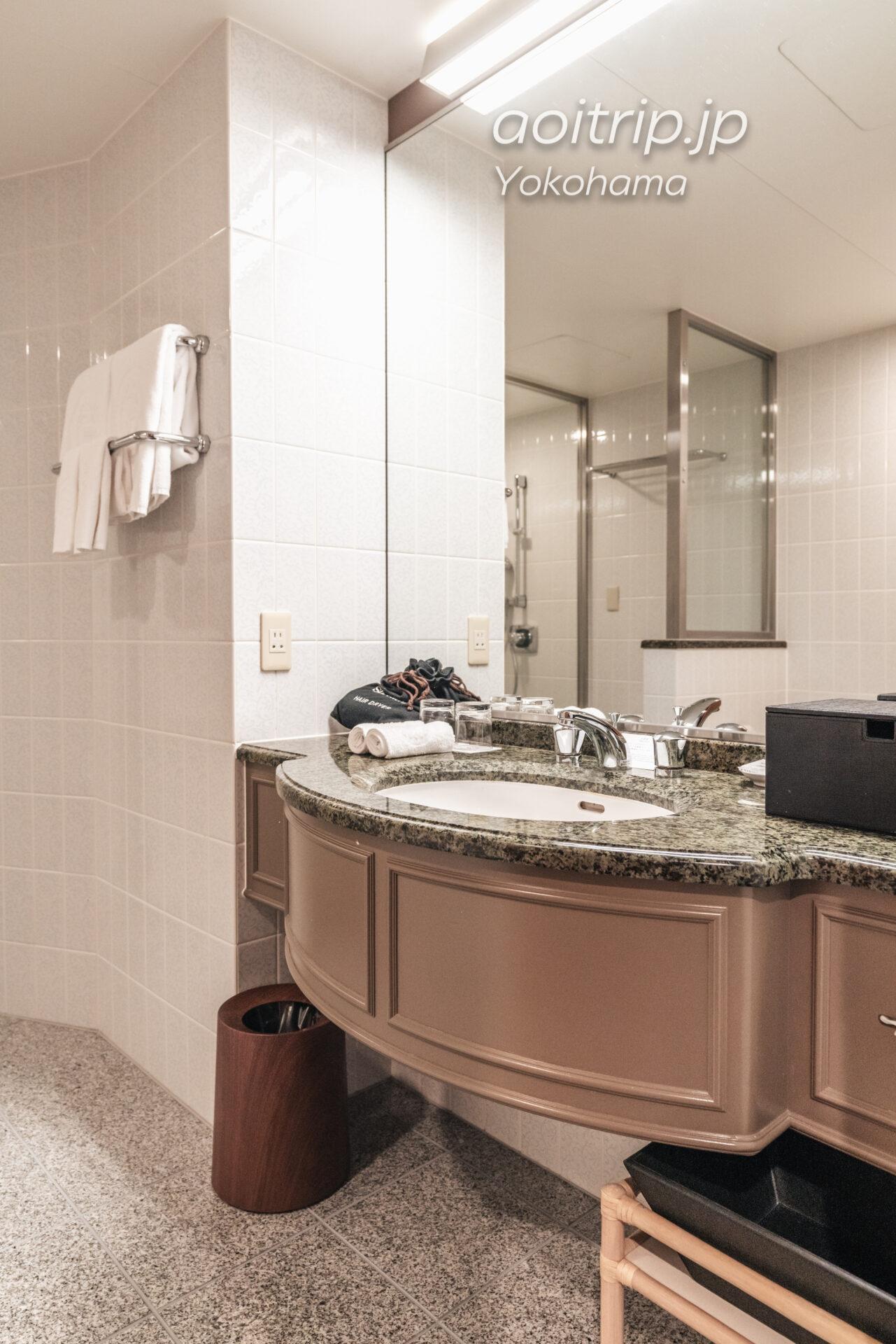 横浜ベイシェラトン ホテル&タワーズ 宿泊記|Yokohama Bay Sheraton Hotel & Towers ラグジュアリー デラックス キング Luxury Deluxe King バスルーム
