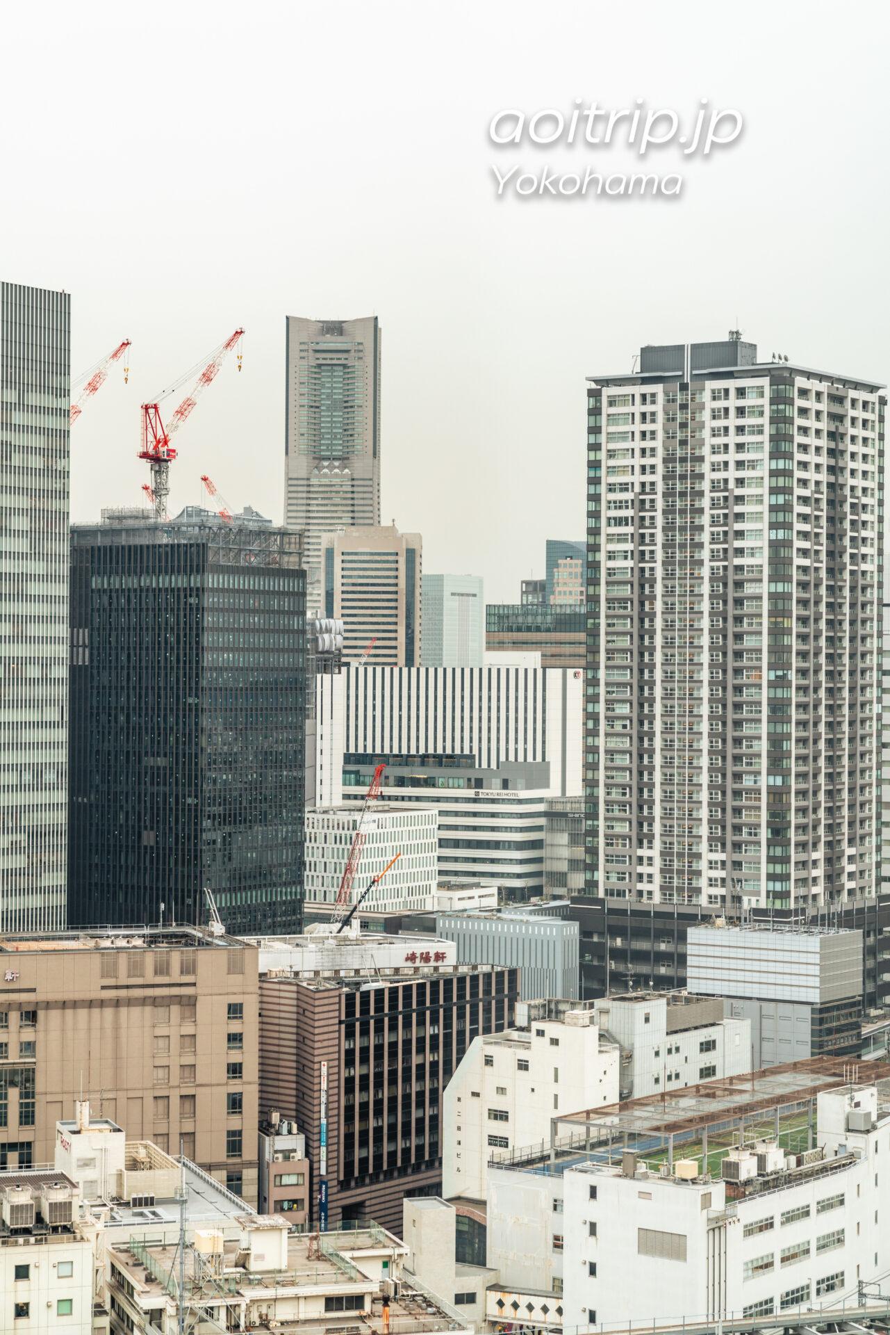 横浜ベイシェラトン ホテル&タワーズ 宿泊記|Yokohama Bay Sheraton Hotel & Towers ラグジュアリー デラックス キング Luxury Deluxe King みなとみらいの眺望