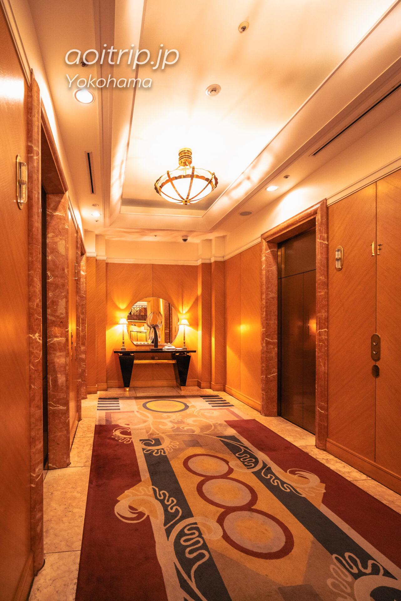 横浜ベイシェラトン ホテル&タワーズ 宿泊記|Yokohama Bay Sheraton Hotel & Towers エレベーターホール