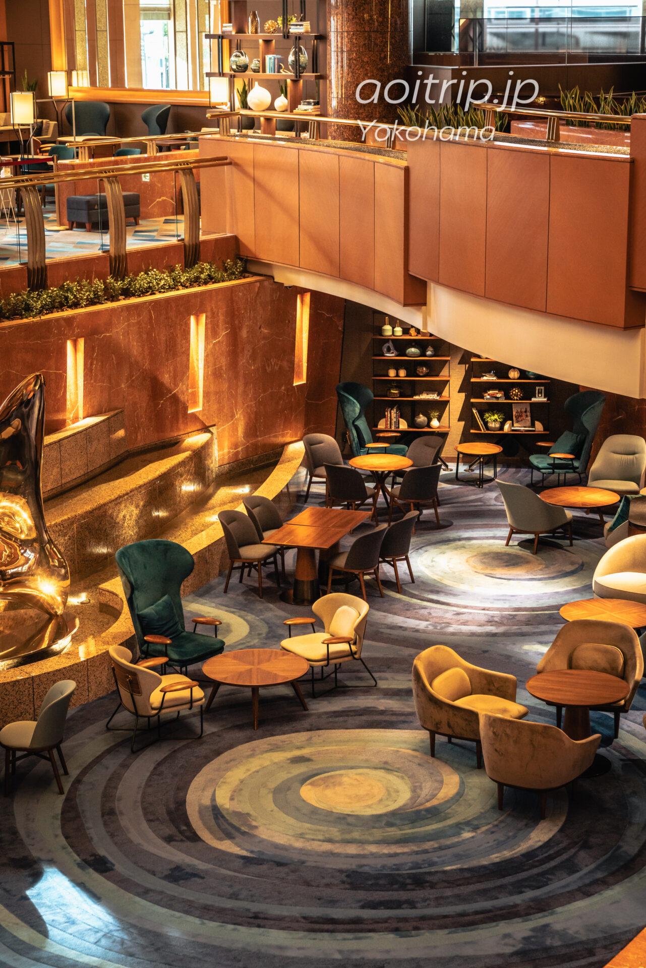 横浜ベイシェラトン ホテル&タワーズ 宿泊記|Yokohama Bay Sheraton Hotel & Towers ロビー