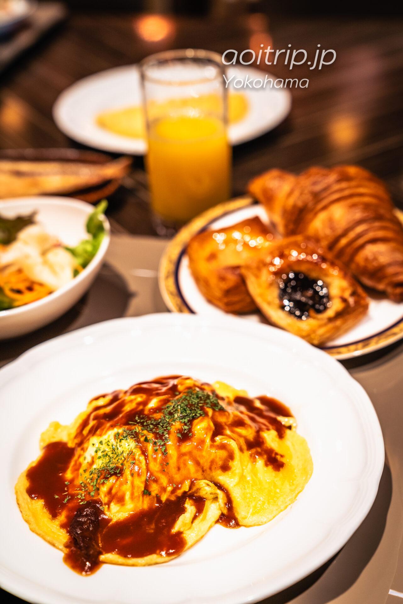 横浜ベイシェラトン ホテル&タワーズ 宿泊記|Yokohama Bay Sheraton Hotel & Towers 朝食ビュッフェ オムライス