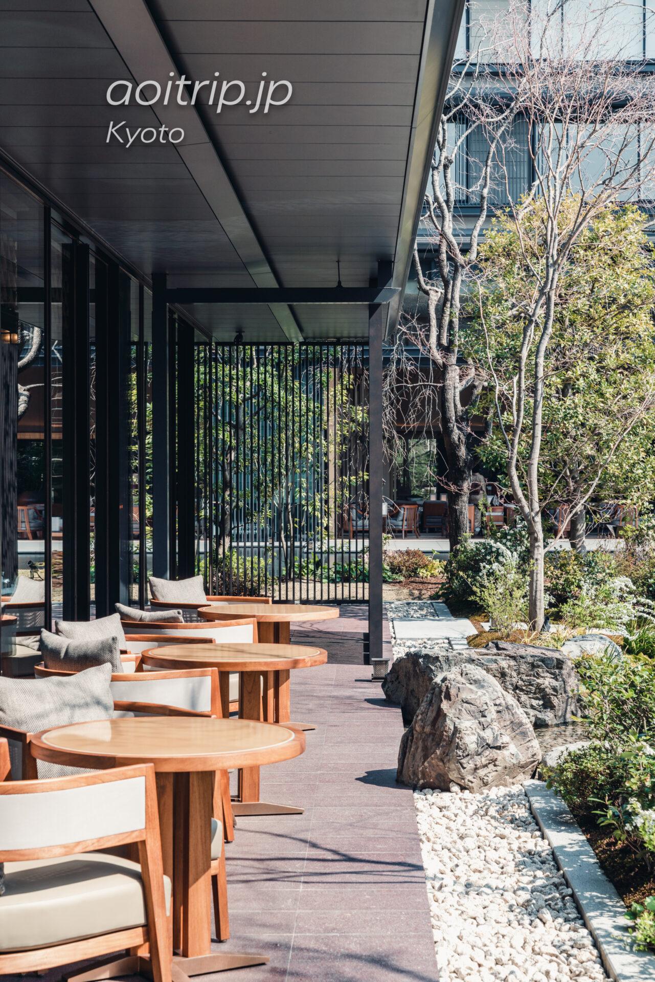 ホテルザ三井京都のアフタヌーンティー