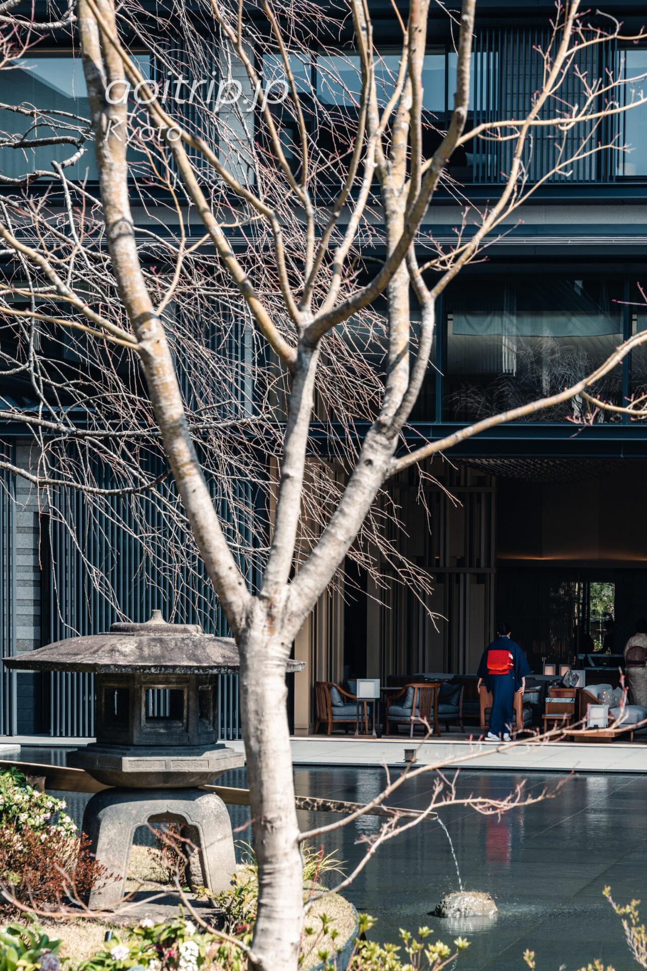 HOTEL THE MITSUI KYOTOの庭園