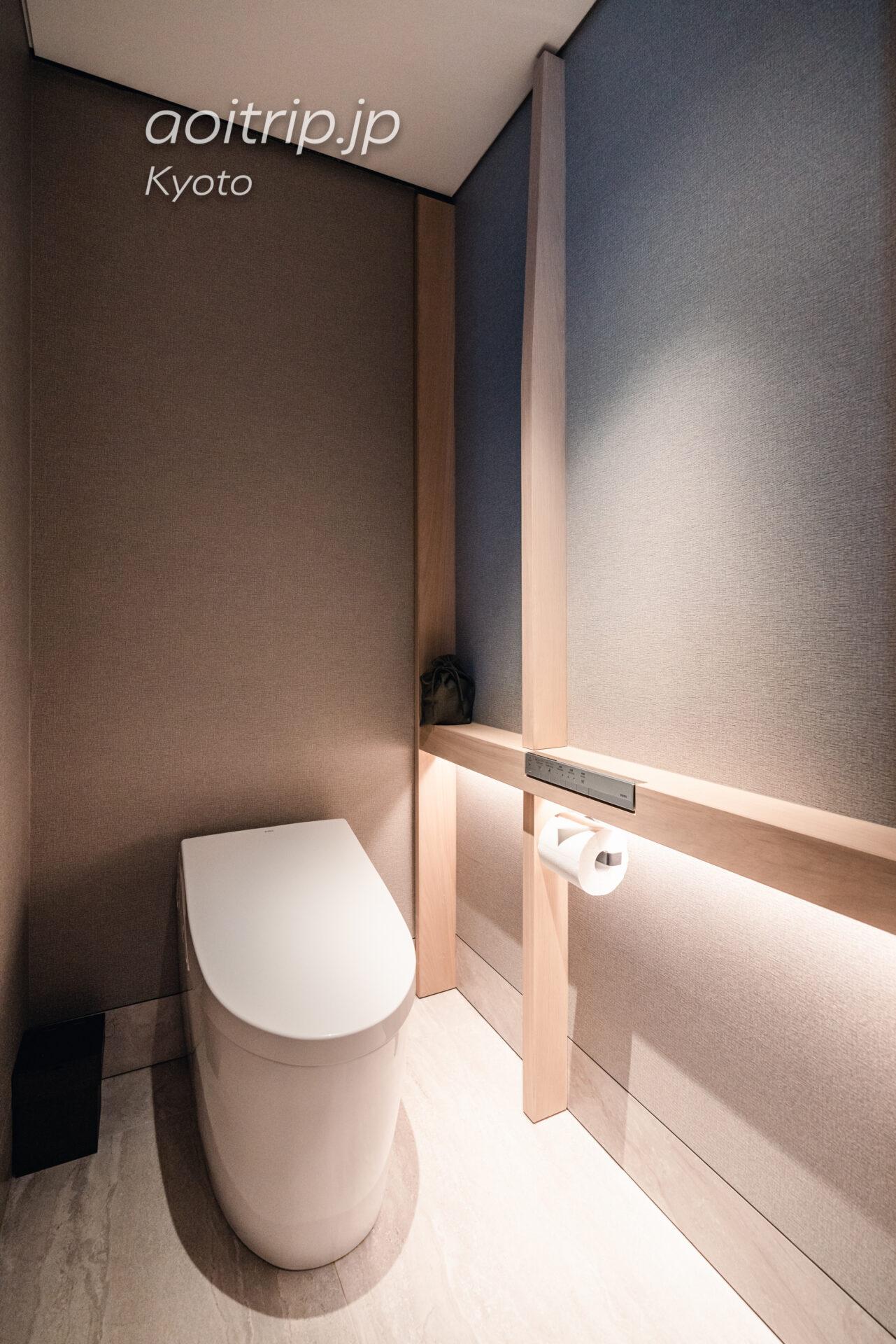 HOTEL THE MITSUI KYOTO デラックススイートのトイレ