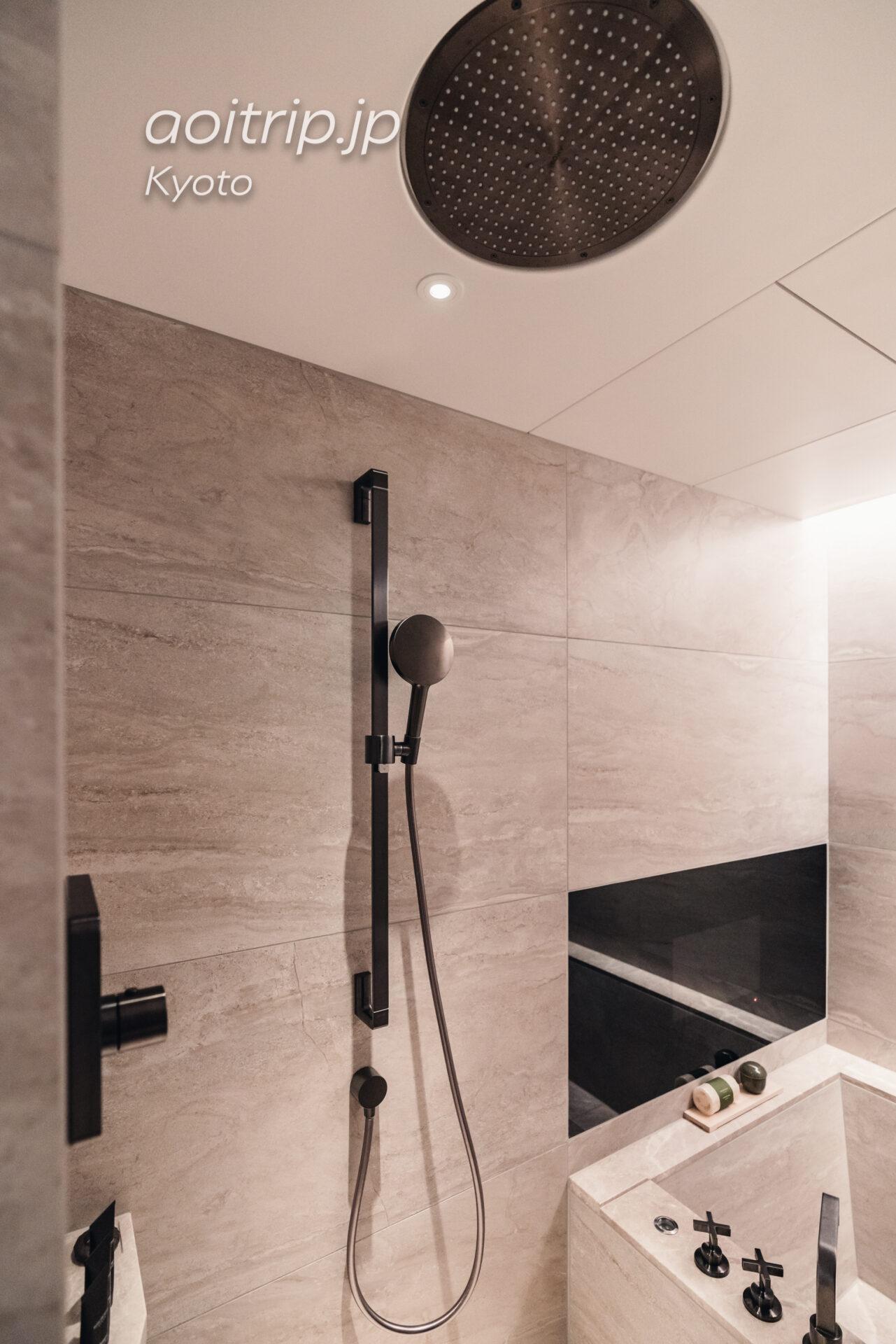 HOTEL THE MITSUI KYOTO デラックススイートのシャワー