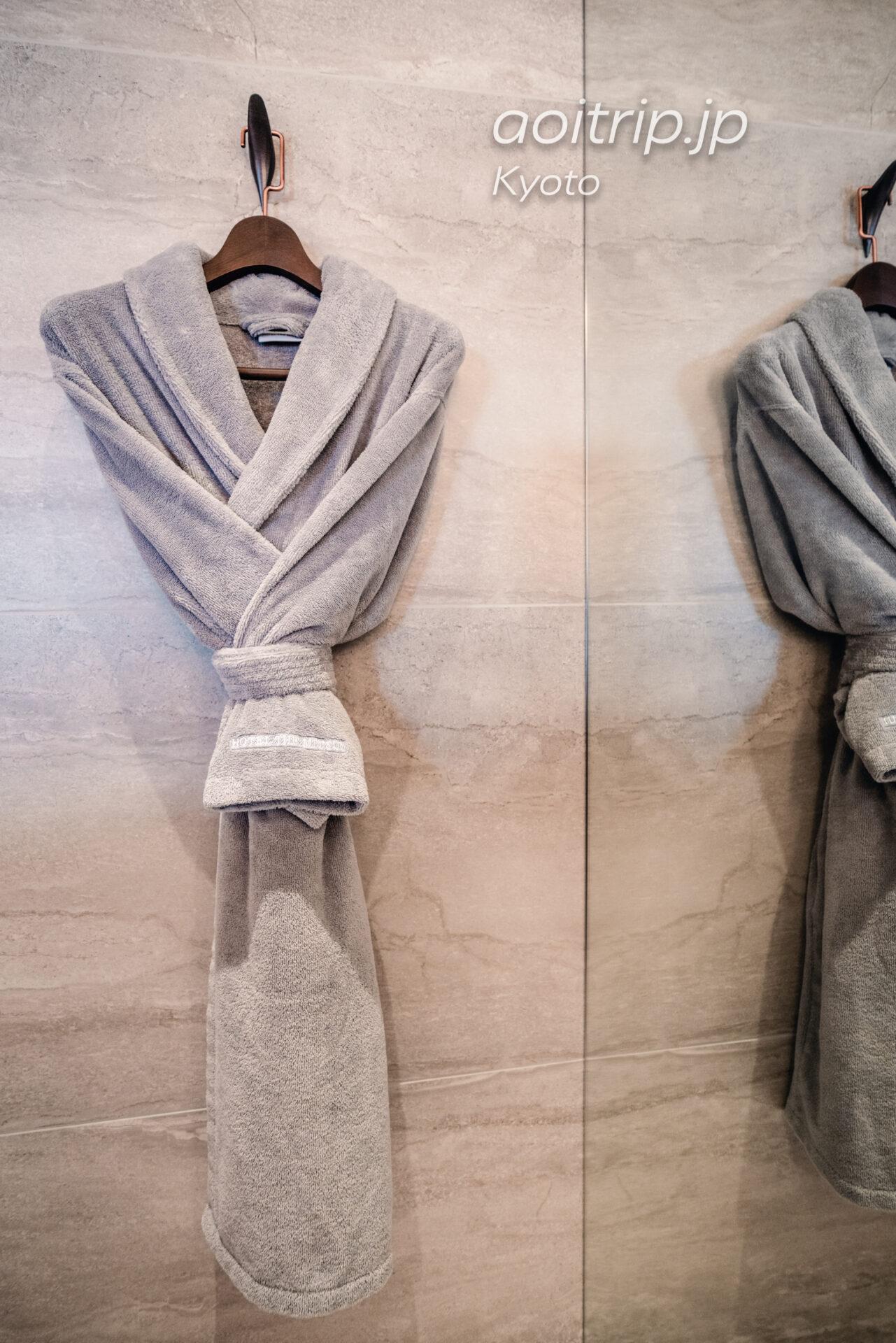HOTEL THE MITSUI KYOTOのバスローブ