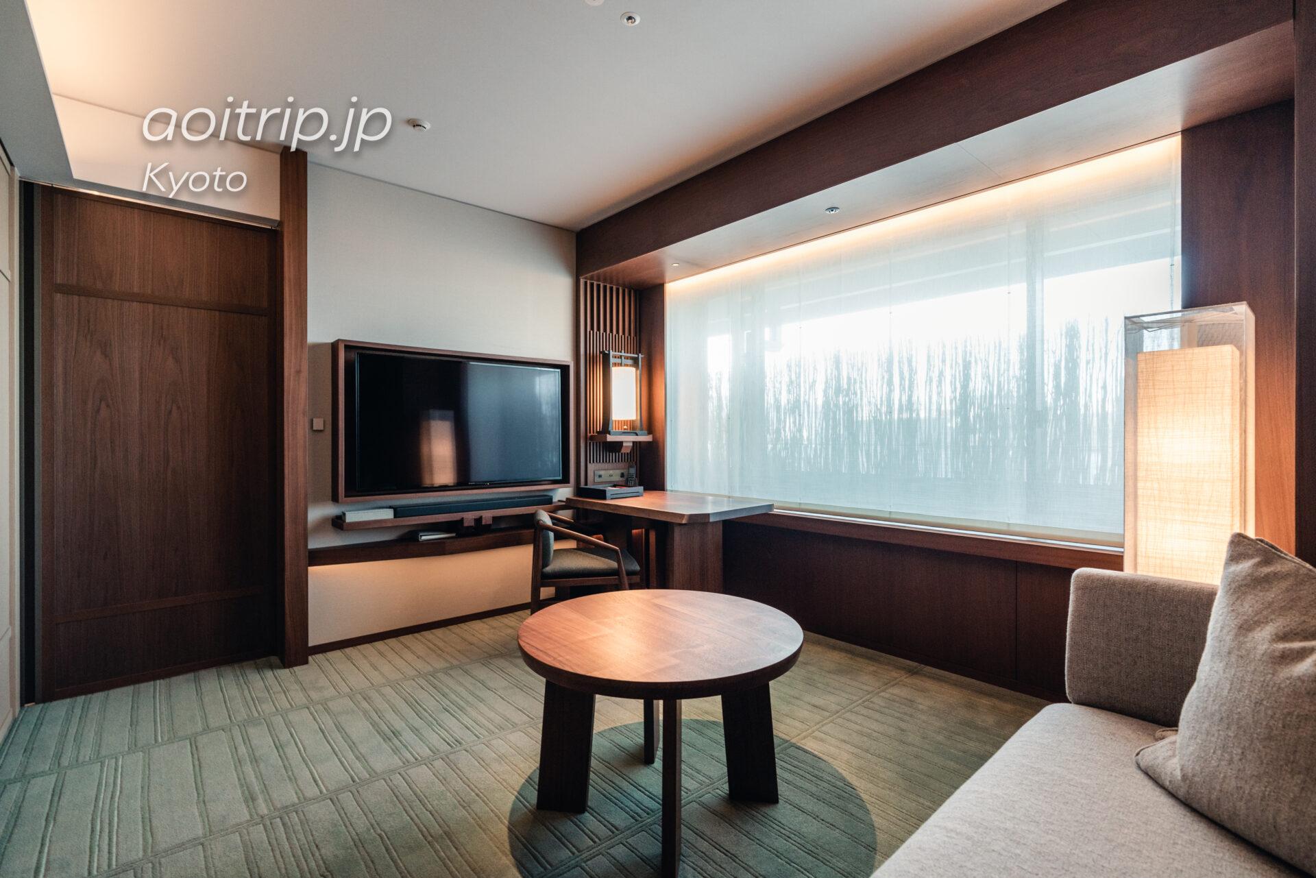 HOTEL THE MITSUI KYOTO デラックススイートの客室 Deluxe Suite