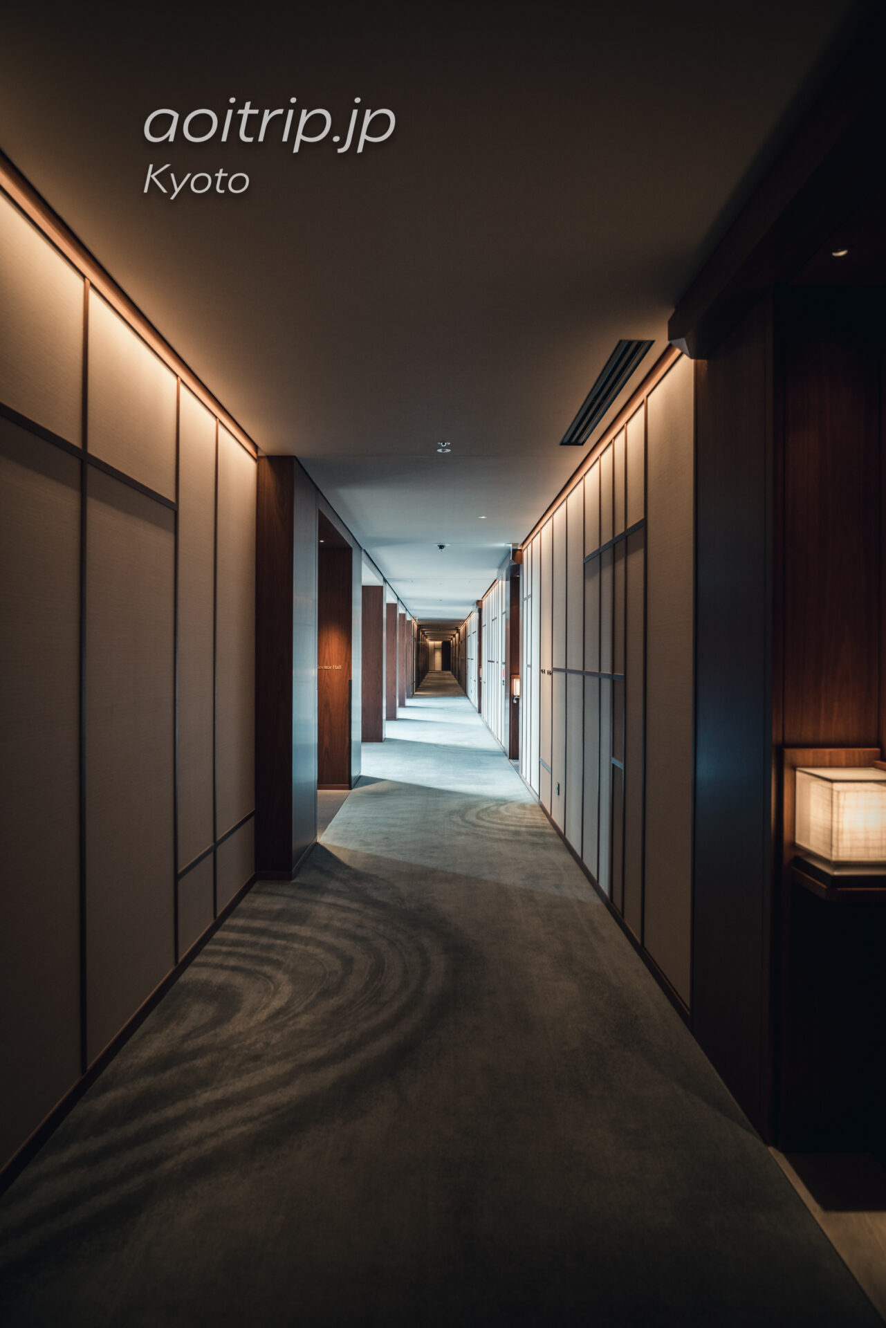 HOTEL THE MITSUI KYOTO, a Luxury Collection Hotel & Spa 内廊下