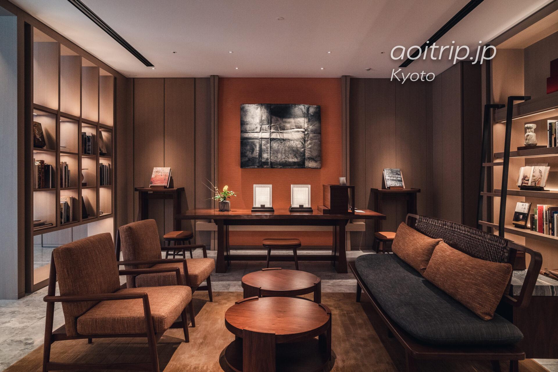 HOTEL THE MITSUI KYOTOのロビーラウンジ