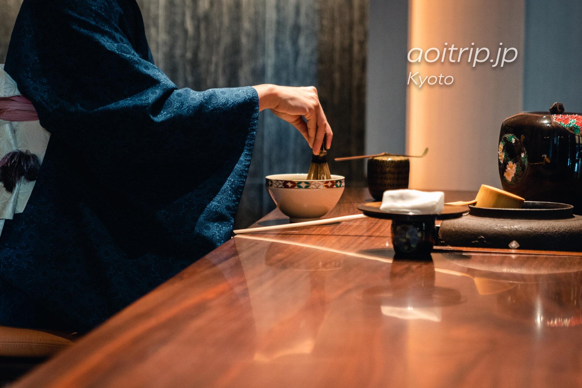 ホテル ザ ミツイ キョウト|HOTEL THE MITSUI KYOTO 午後のお愉しみ 〜お抹茶のふるまい