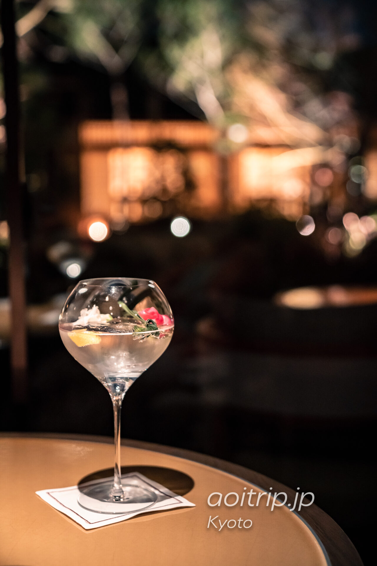 HOTEL THE MITSUI KYOTO ザ ガーデン バー The Garden Bar