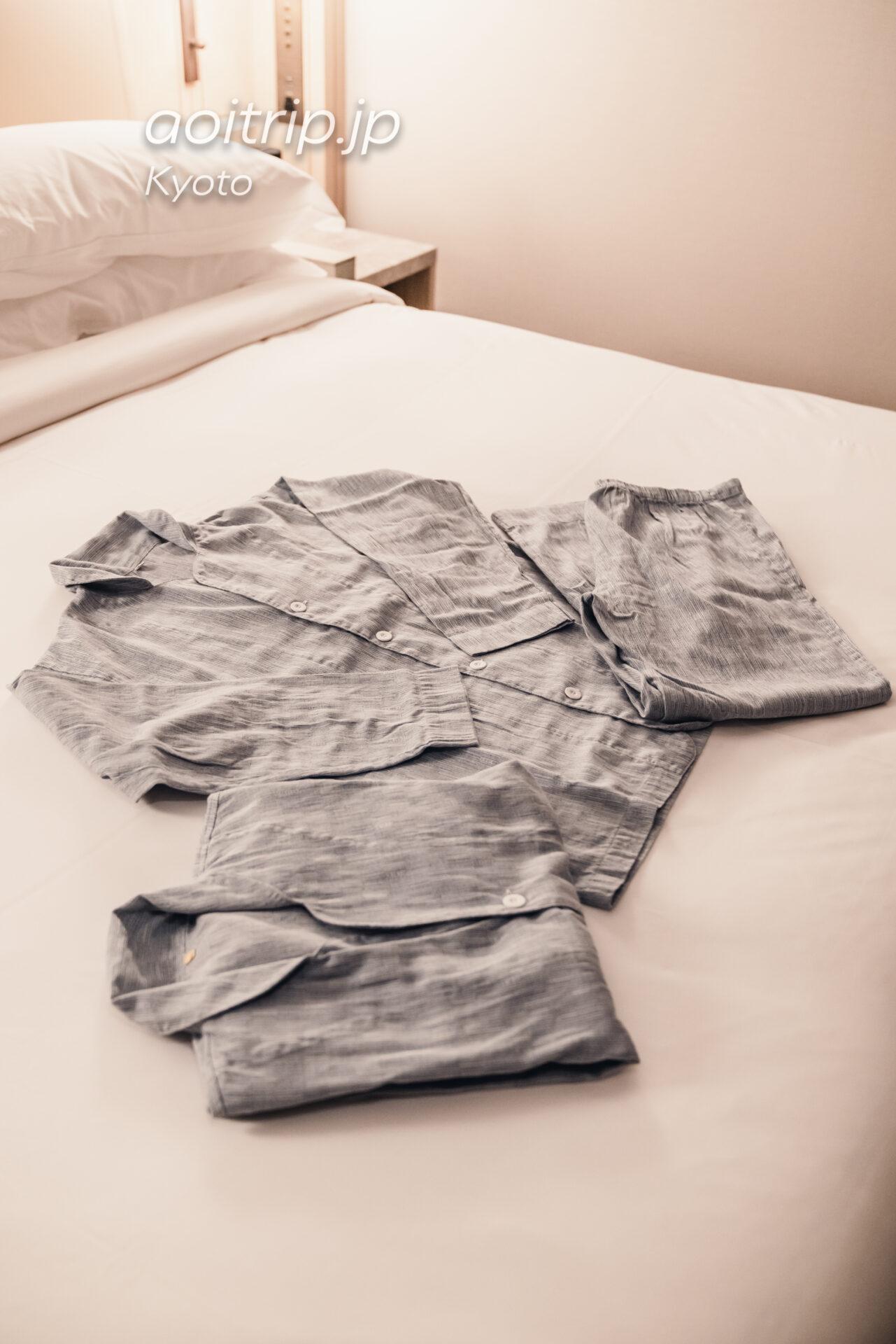 HOTEL THE MITSUI KYOTO デラックススイートのパジャマ(ルームウェア)