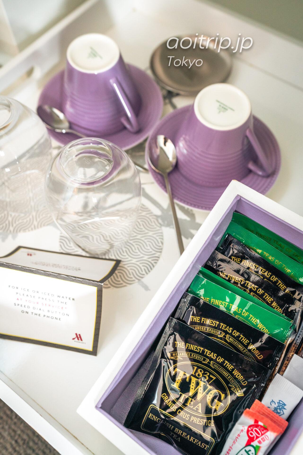 東京マリオットホテル TWGのお茶