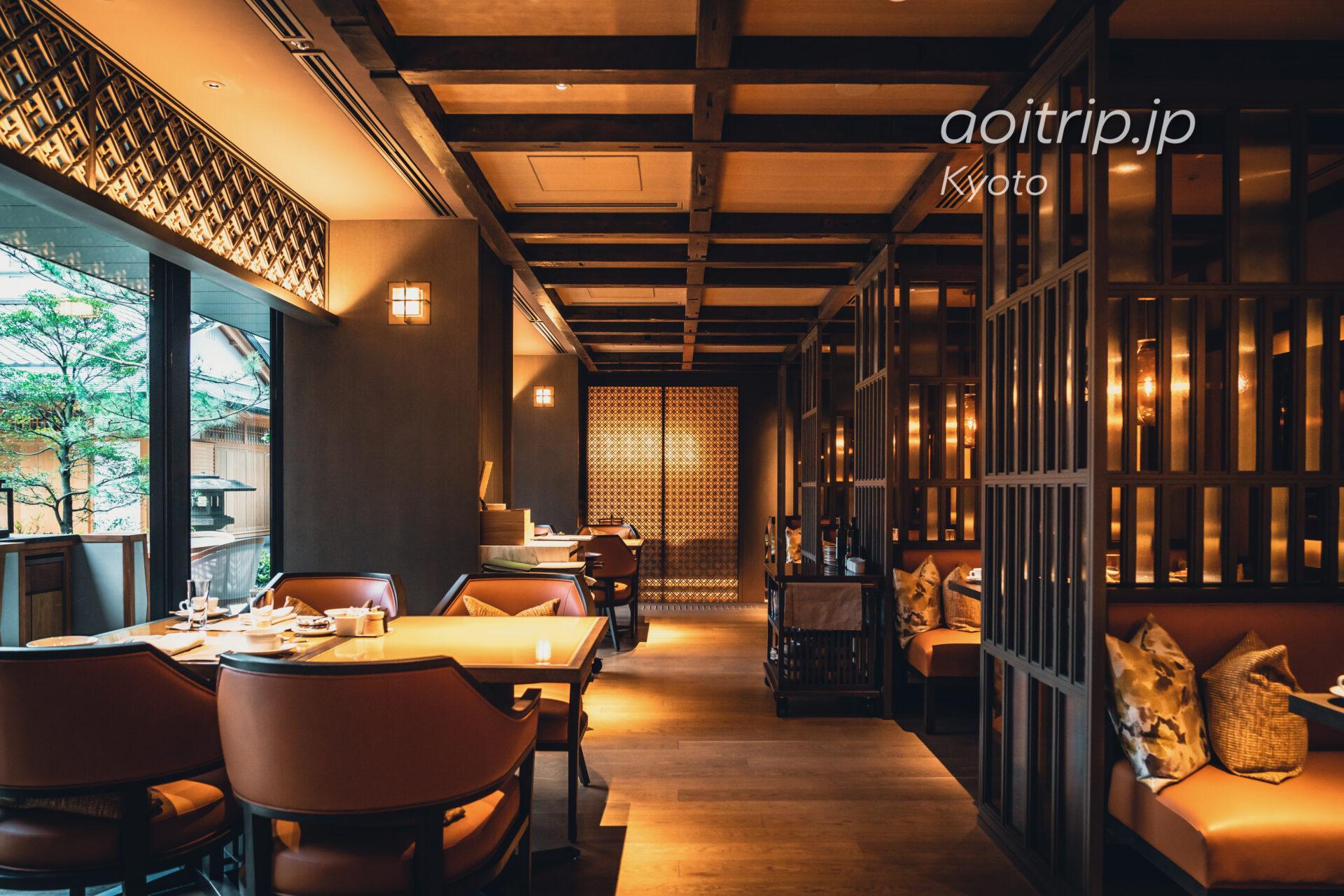 HOTEL THE MITSUI KYOTO, THE GARDEN BARの朝食