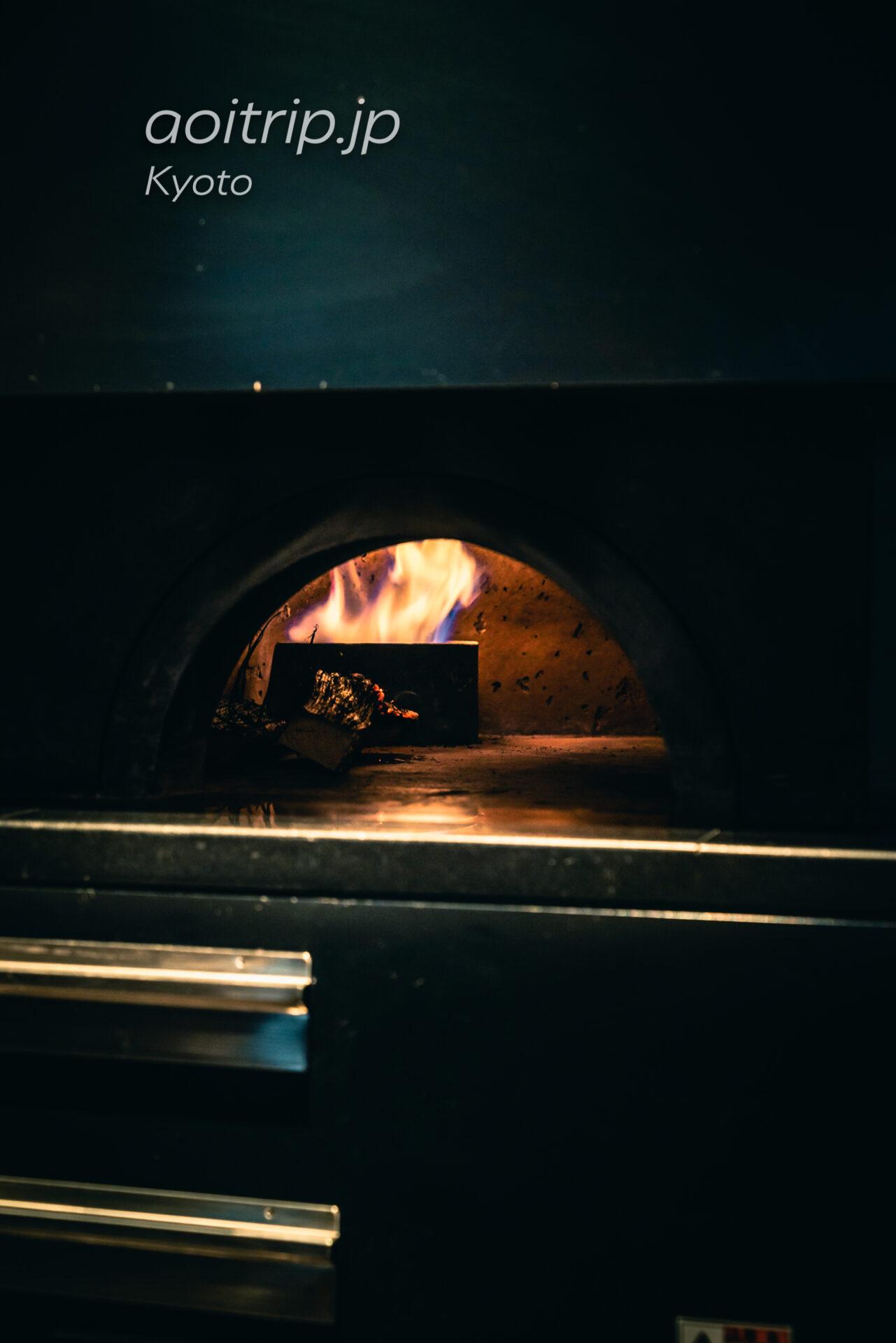 HOTEL THE MITSUI KYOTO イタリアンレストランの薪釜