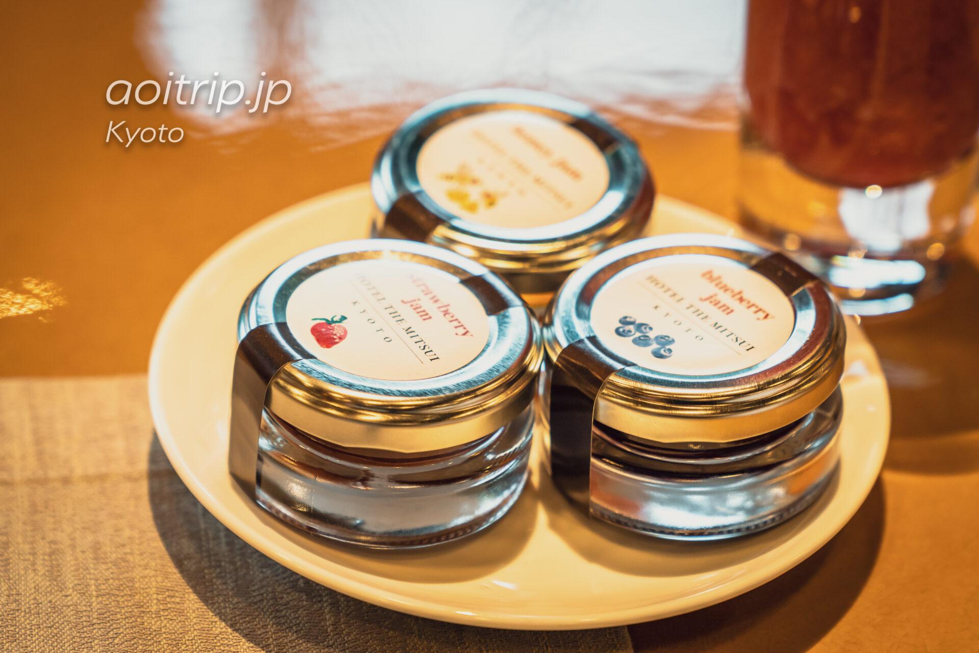 HOTEL THE MITSUI KYOTOの朝食のジャム